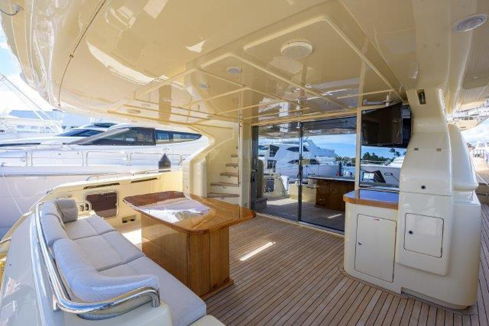 Ferretti Yachts-Altura 840 2010-MISS ALLIED Jupiter-Florida-United States-Aft Deck-1518354 | Thumbnail
