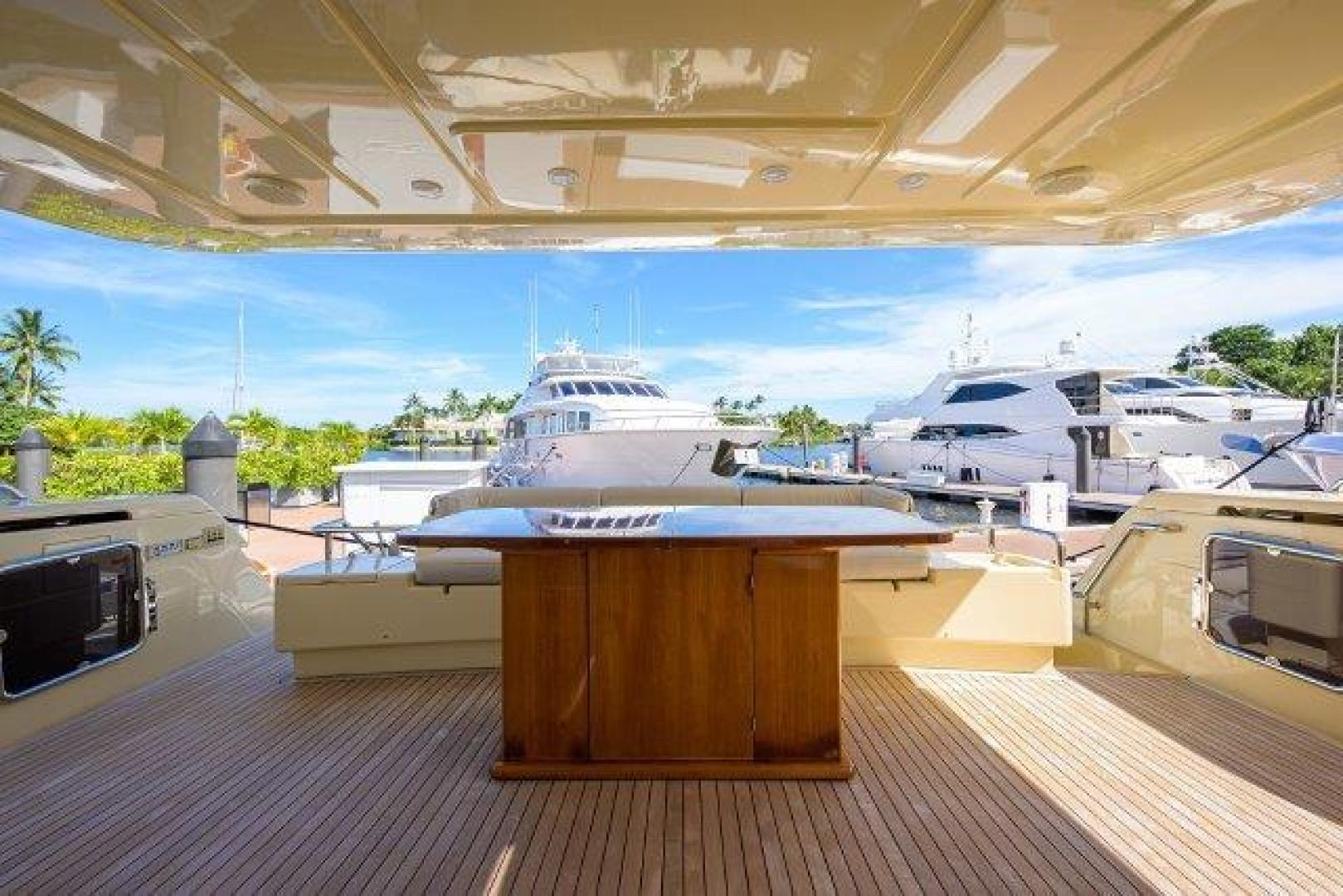 Ferretti Yachts-Altura 840 2010-MISS ALLIED Jupiter-Florida-United States-Aft Deck-1518357 | Thumbnail
