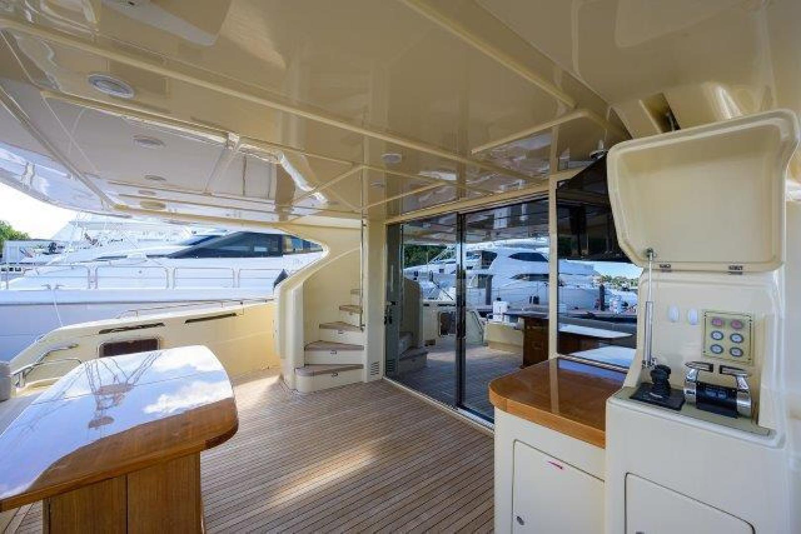 Ferretti Yachts-Altura 840 2010-MISS ALLIED Jupiter-Florida-United States-Aft Deck-1518355 | Thumbnail