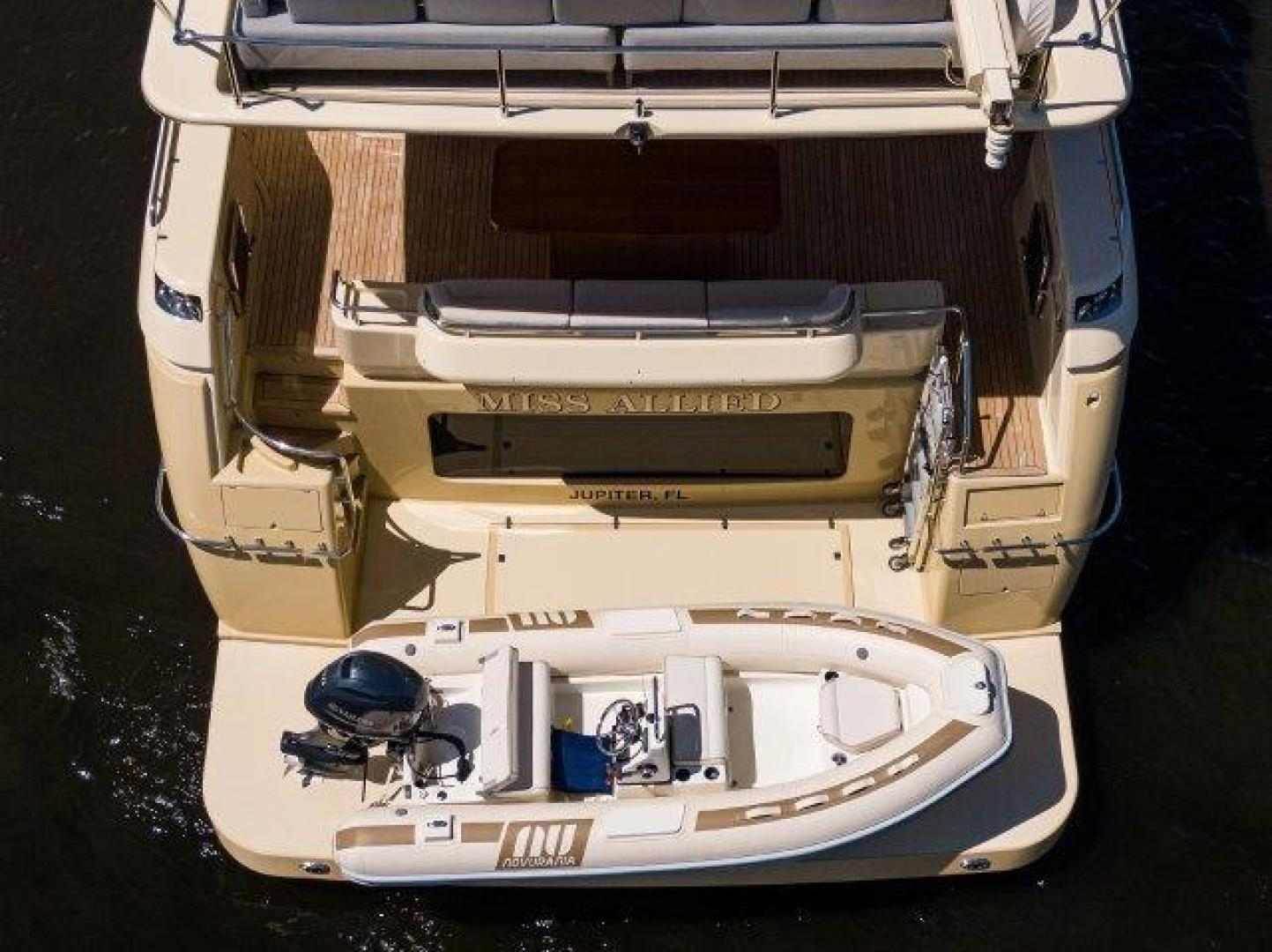Ferretti Yachts-Altura 840 2010-MISS ALLIED Jupiter-Florida-United States-Swim Platform-1518378 | Thumbnail