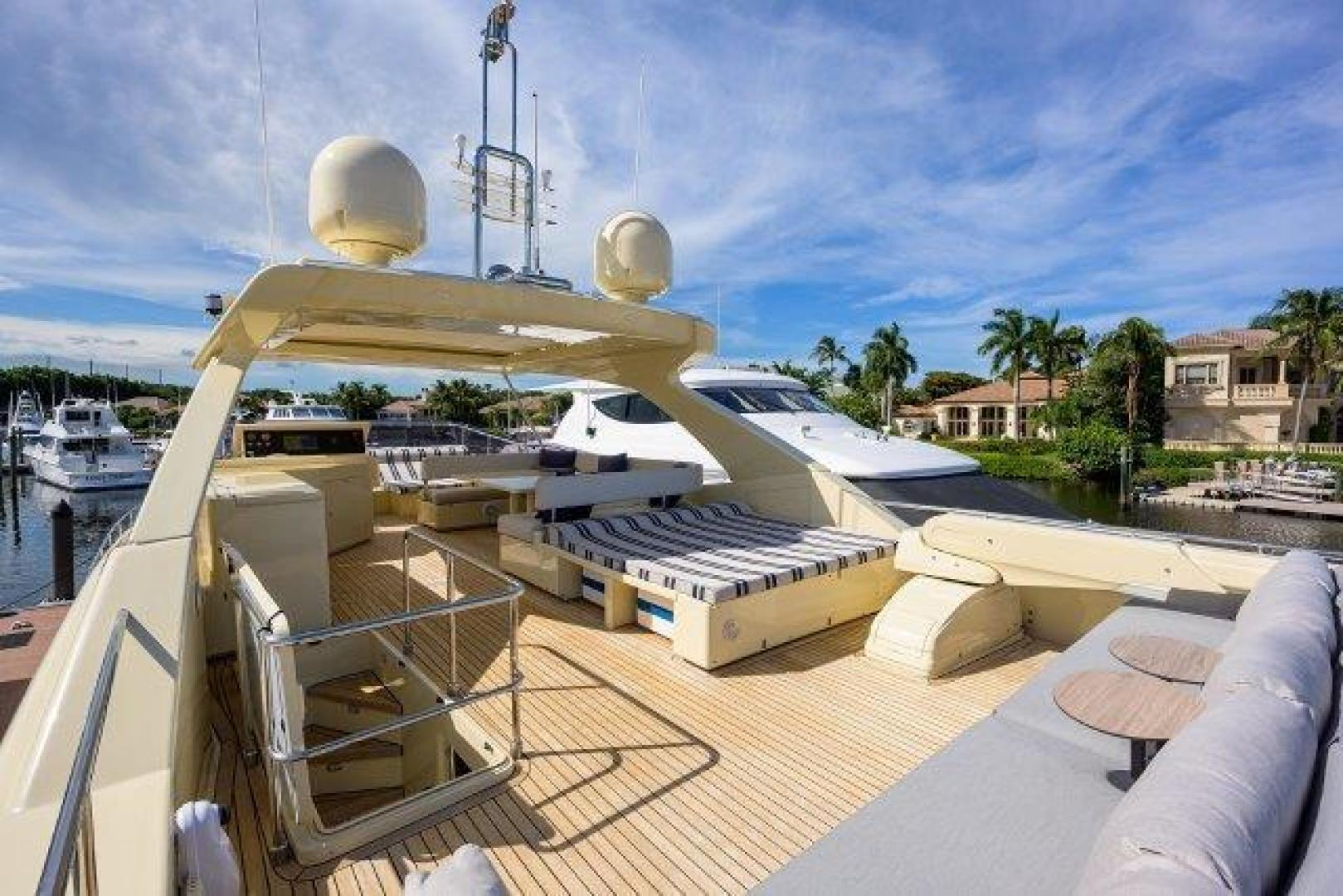 Ferretti Yachts-Altura 840 2010-MISS ALLIED Jupiter-Florida-United States-Bridge Deck-1518342 | Thumbnail