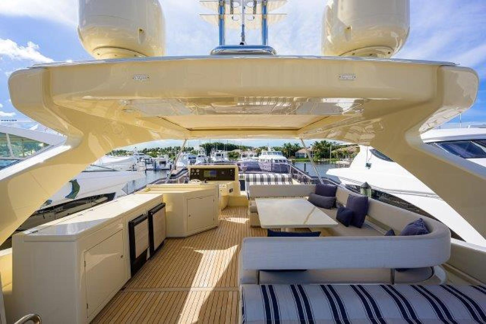 Ferretti Yachts-Altura 840 2010-MISS ALLIED Jupiter-Florida-United States-Bridge Deck-1518345 | Thumbnail