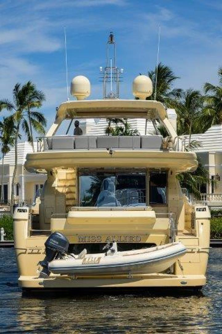Ferretti Yachts-Altura 840 2010-MISS ALLIED Jupiter-Florida-United States-Aft Profile-1518375 | Thumbnail
