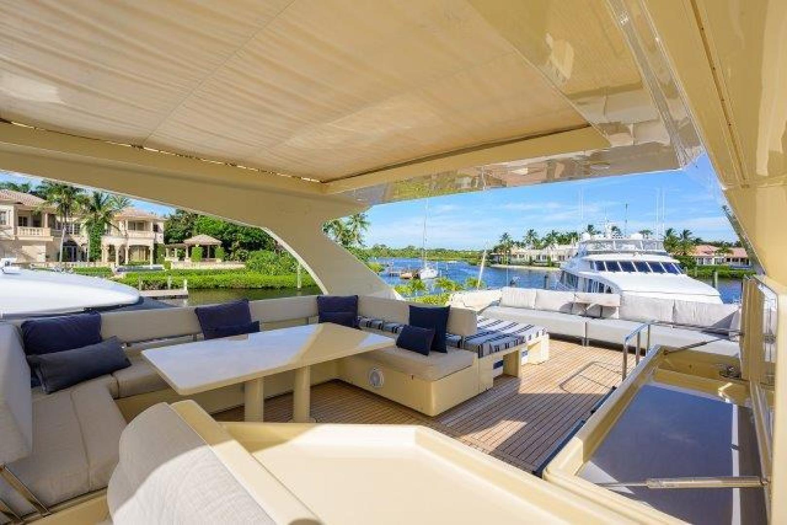 Ferretti Yachts-Altura 840 2010-MISS ALLIED Jupiter-Florida-United States-Bridge Deck-1518348 | Thumbnail