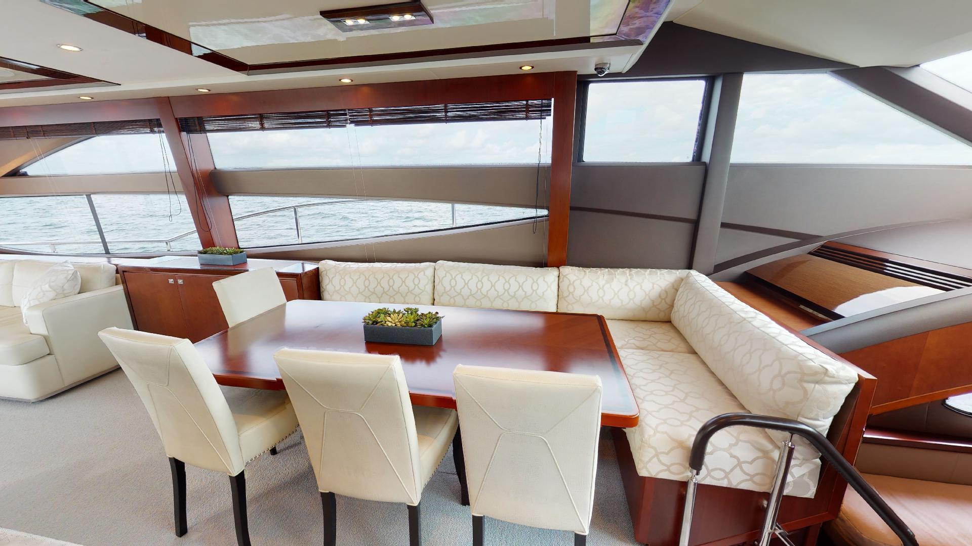 Princess-Flybridge 2014-GAVIOTA Coral Gables-Florida-United States-DINETTE-1519369   Thumbnail