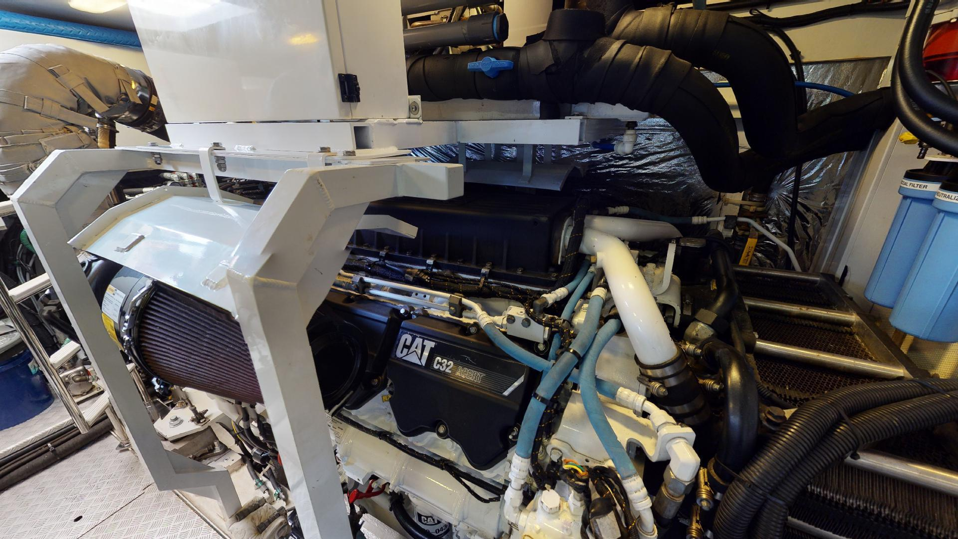 Princess-Flybridge 2014-GAVIOTA Coral Gables-Florida-United States-ENGINE ROOM-1519621   Thumbnail
