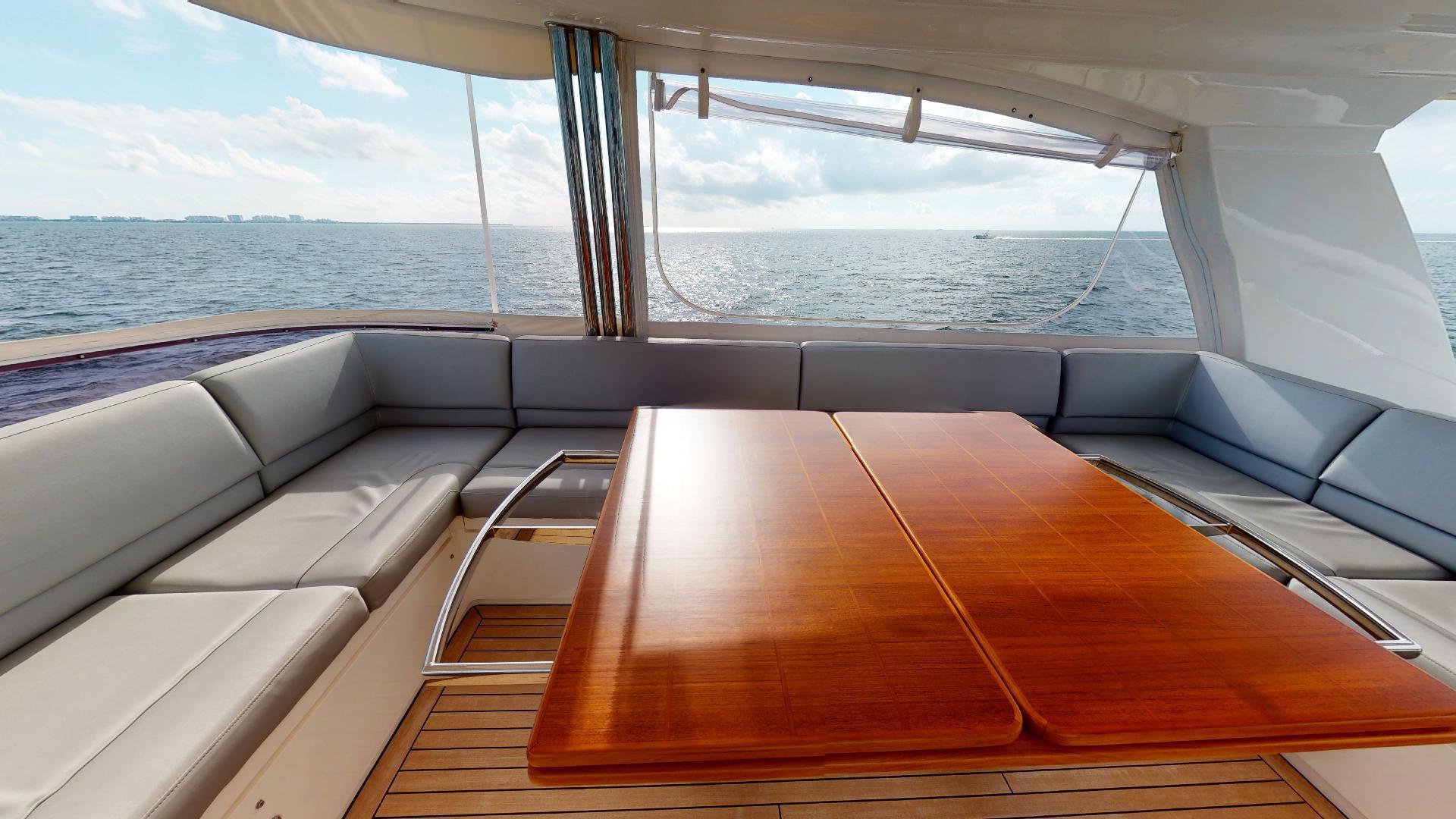 Princess-Flybridge 2014-GAVIOTA Coral Gables-Florida-United States-BRIDGE SEATING-1519588   Thumbnail
