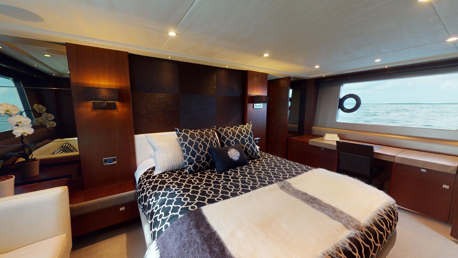 Princess-Flybridge 2014-GAVIOTA Coral Gables-Florida-United States-MASTER STATEROOM-1519374   Thumbnail