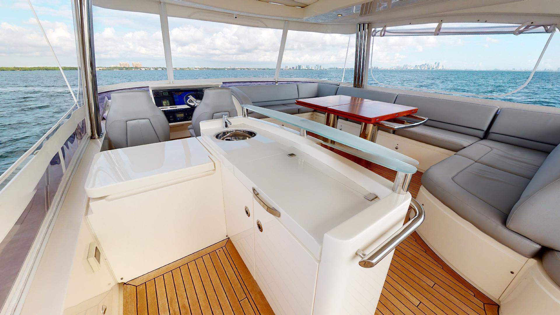 Princess-Flybridge 2014-GAVIOTA Coral Gables-Florida-United States-BRIDGE GALLEY-1519590   Thumbnail