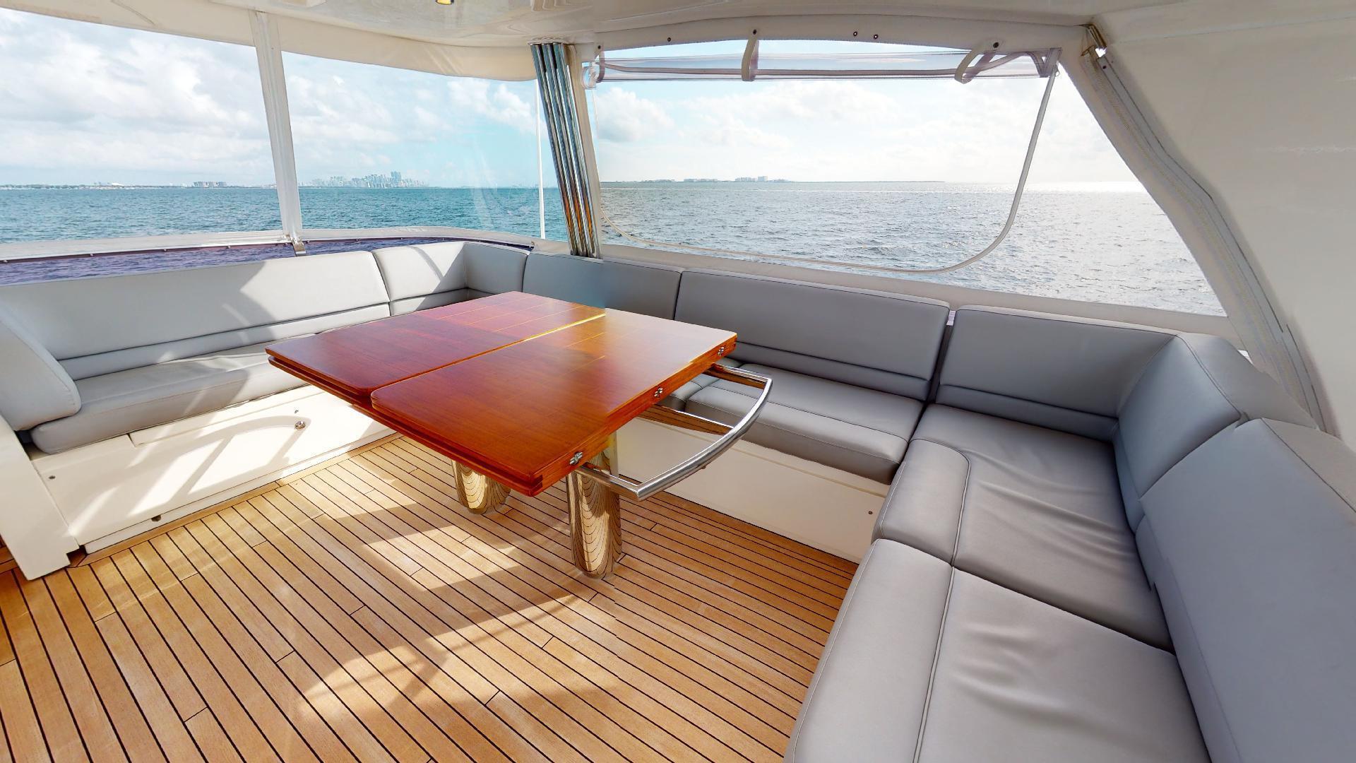 Princess-Flybridge 2014-GAVIOTA Coral Gables-Florida-United States-BRIDGE SEATING-1519587   Thumbnail
