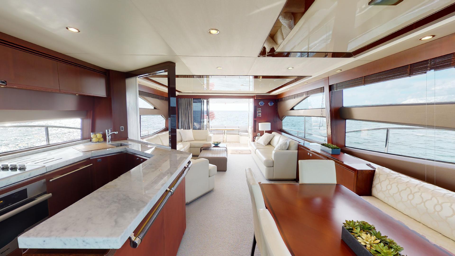 Princess-Flybridge 2014-GAVIOTA Coral Gables-Florida-United States-GALLEY-1519365   Thumbnail