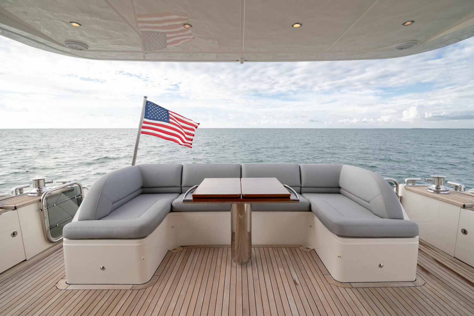 Princess-Flybridge 2014-GAVIOTA Coral Gables-Florida-United States-AFT DECK-1519508   Thumbnail