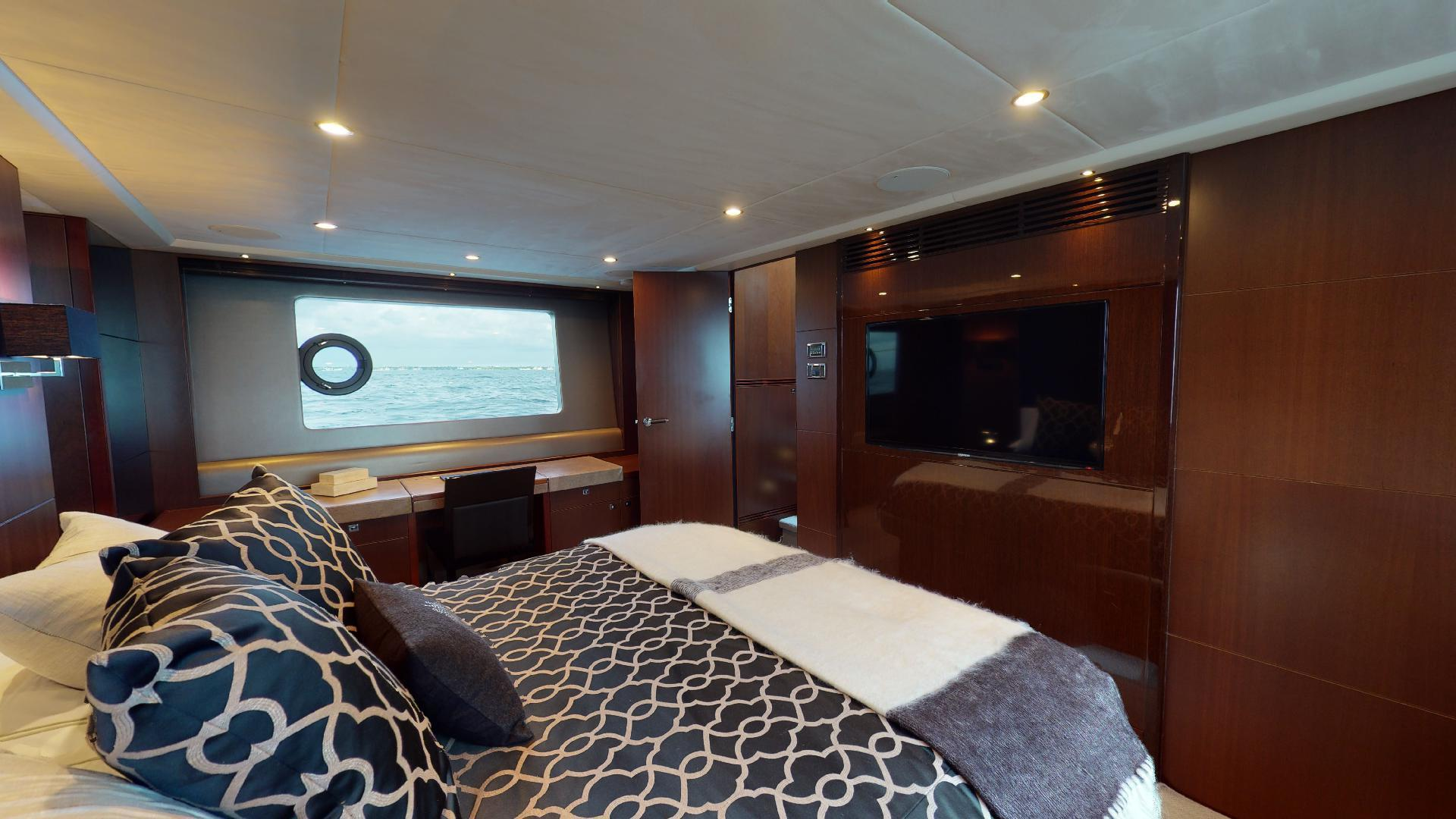 Princess-Flybridge 2014-GAVIOTA Coral Gables-Florida-United States-MASTER STATEROOM-1519372   Thumbnail
