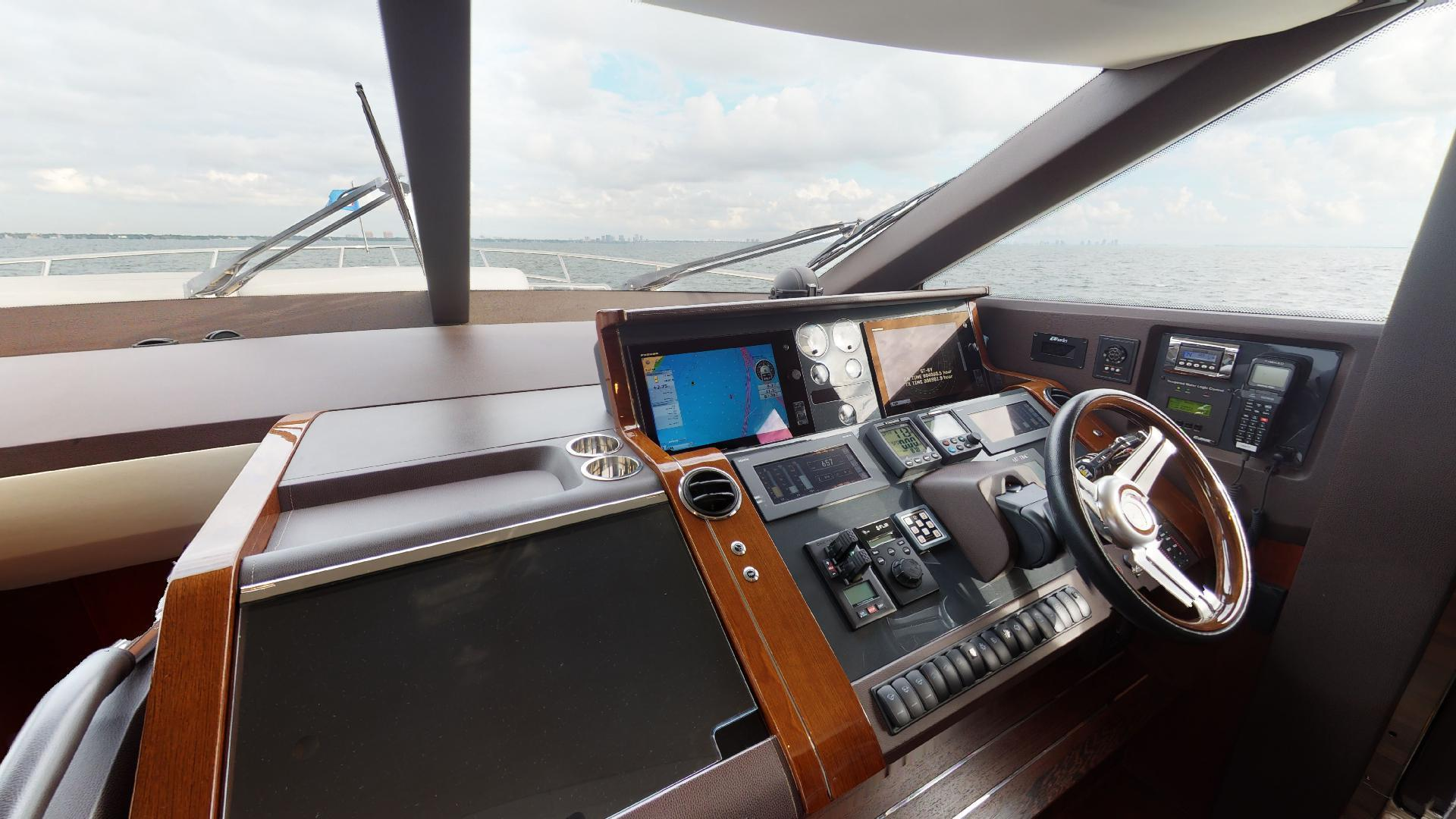Princess-Flybridge 2014-GAVIOTA Coral Gables-Florida-United States-HELM-1519618   Thumbnail