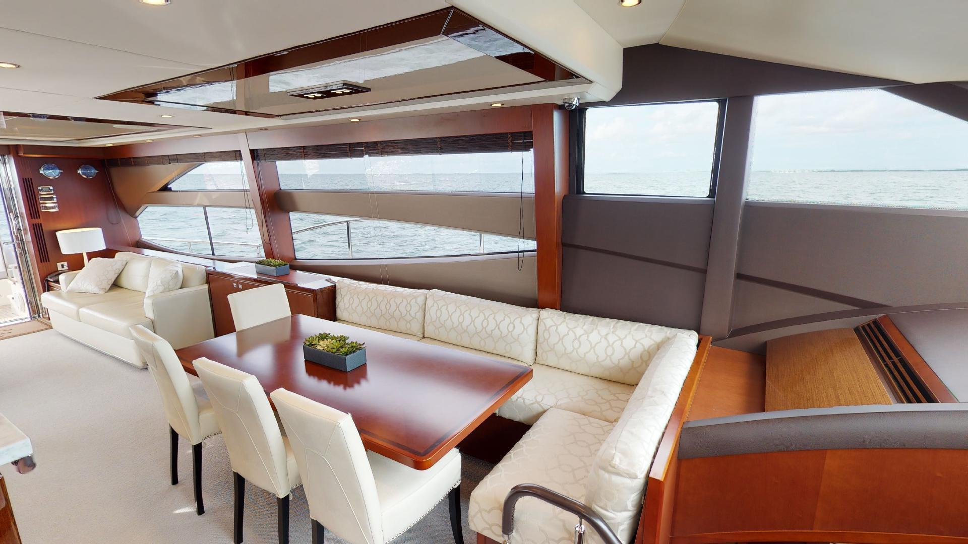 Princess-Flybridge 2014-GAVIOTA Coral Gables-Florida-United States-DINETTE-1519370   Thumbnail