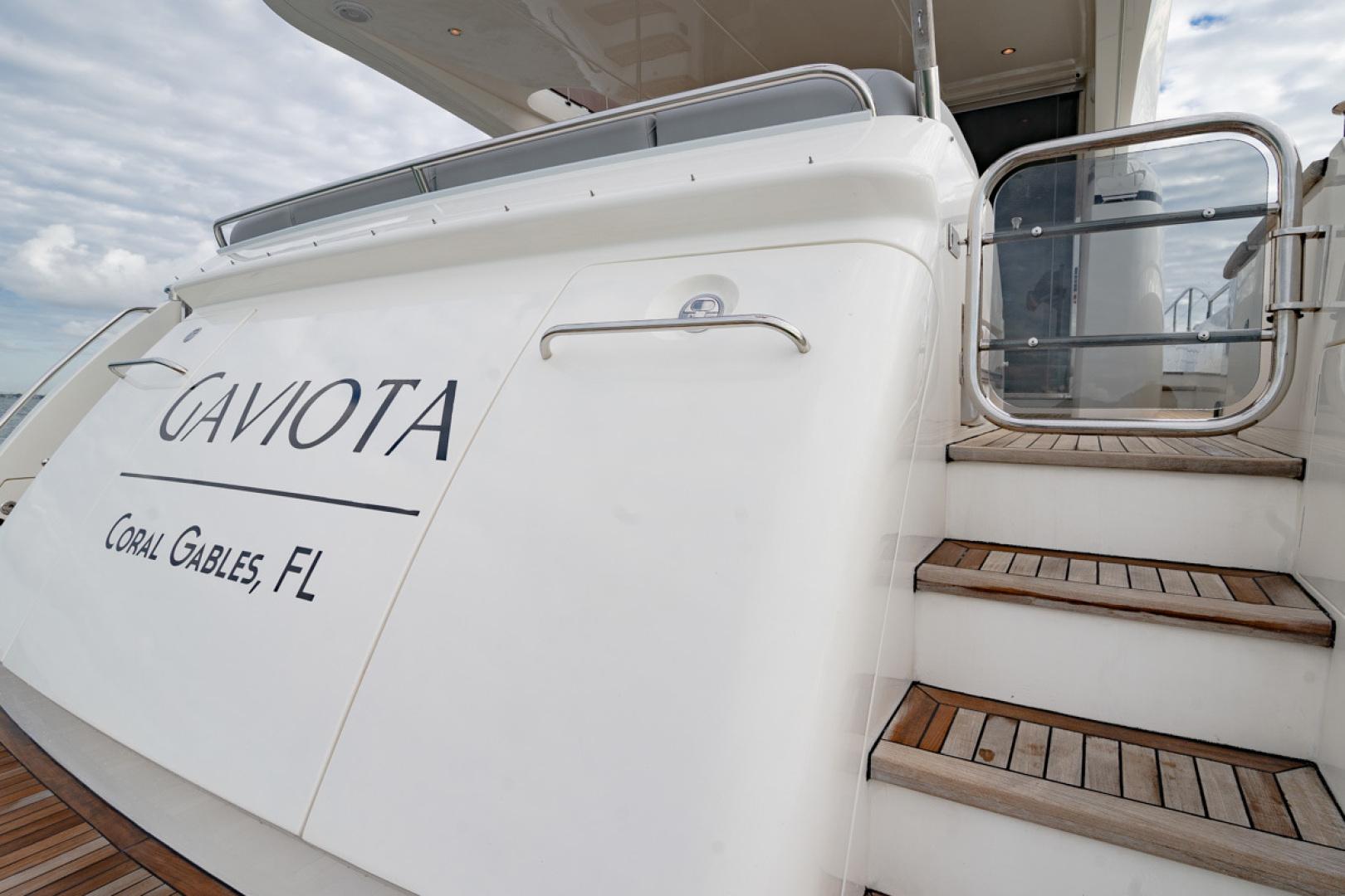 Princess-Flybridge 2014-GAVIOTA Coral Gables-Florida-United States-TRANSOM-1519624   Thumbnail