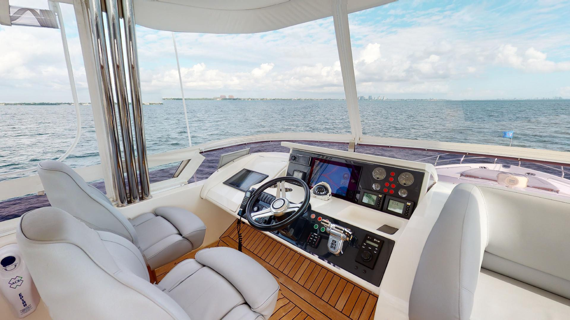 Princess-Flybridge 2014-GAVIOTA Coral Gables-Florida-United States-BRIDGE HELM-1519620   Thumbnail