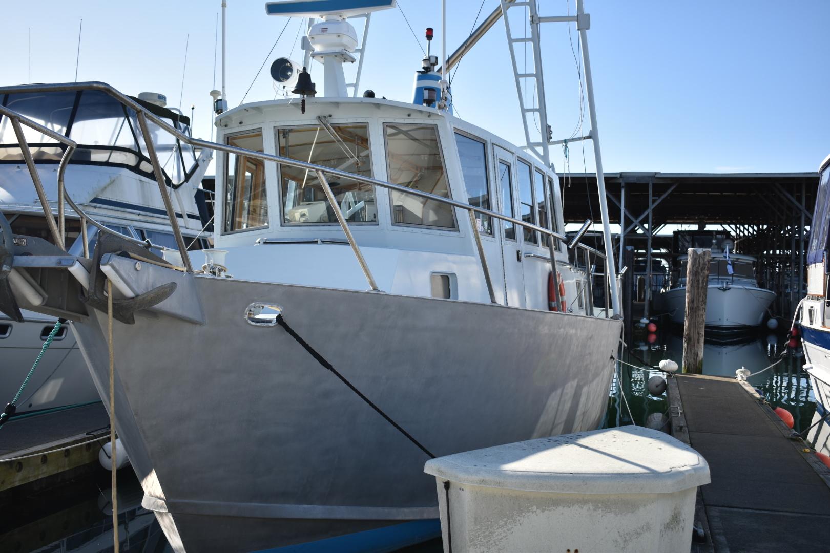 Ted Brewer-Custom 41 Trawler 1990-Snapdragon Anacortes-Washington-United States-1520067 | Thumbnail