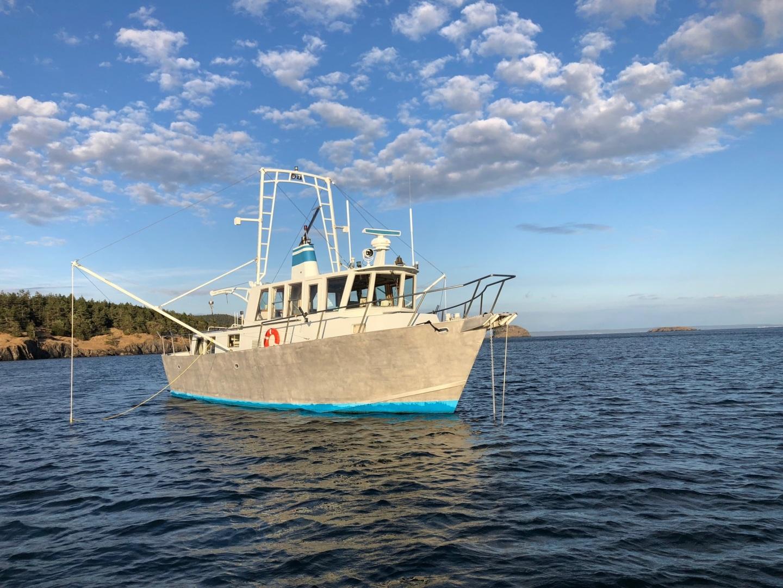 Ted Brewer-Custom 41 Trawler 1990-Snapdragon Anacortes-Washington-United States-1520060 | Thumbnail