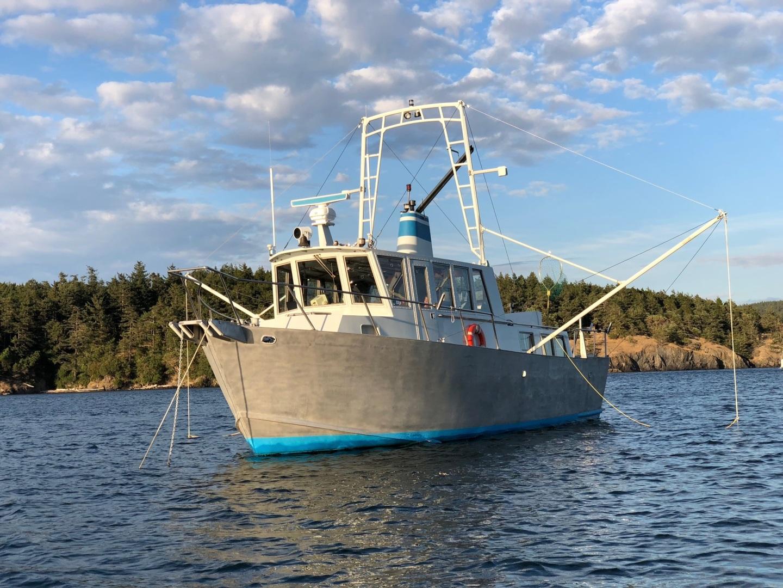 Ted Brewer-Custom 41 Trawler 1990-Snapdragon Anacortes-Washington-United States-1520042 | Thumbnail