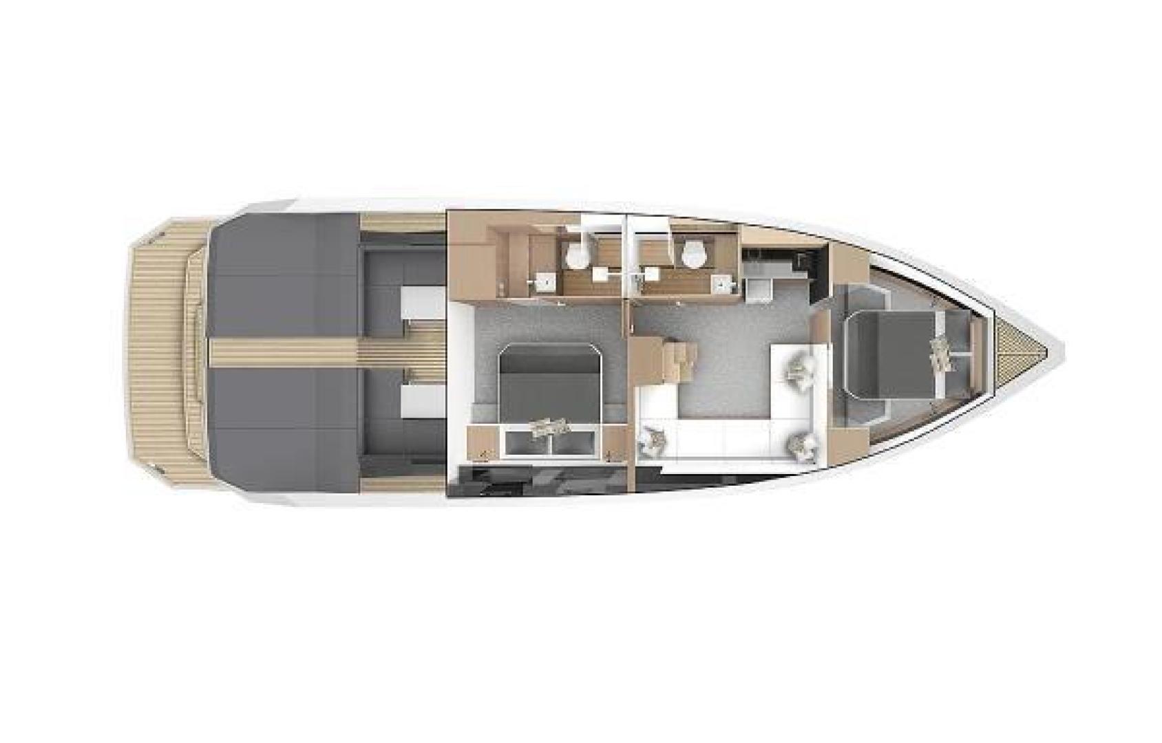 De Antonio-D46 Cruiser 2021-De Antonio Yachts D46 Cruiser Fort Lauderdale-Florida-United States-1523160 | Thumbnail