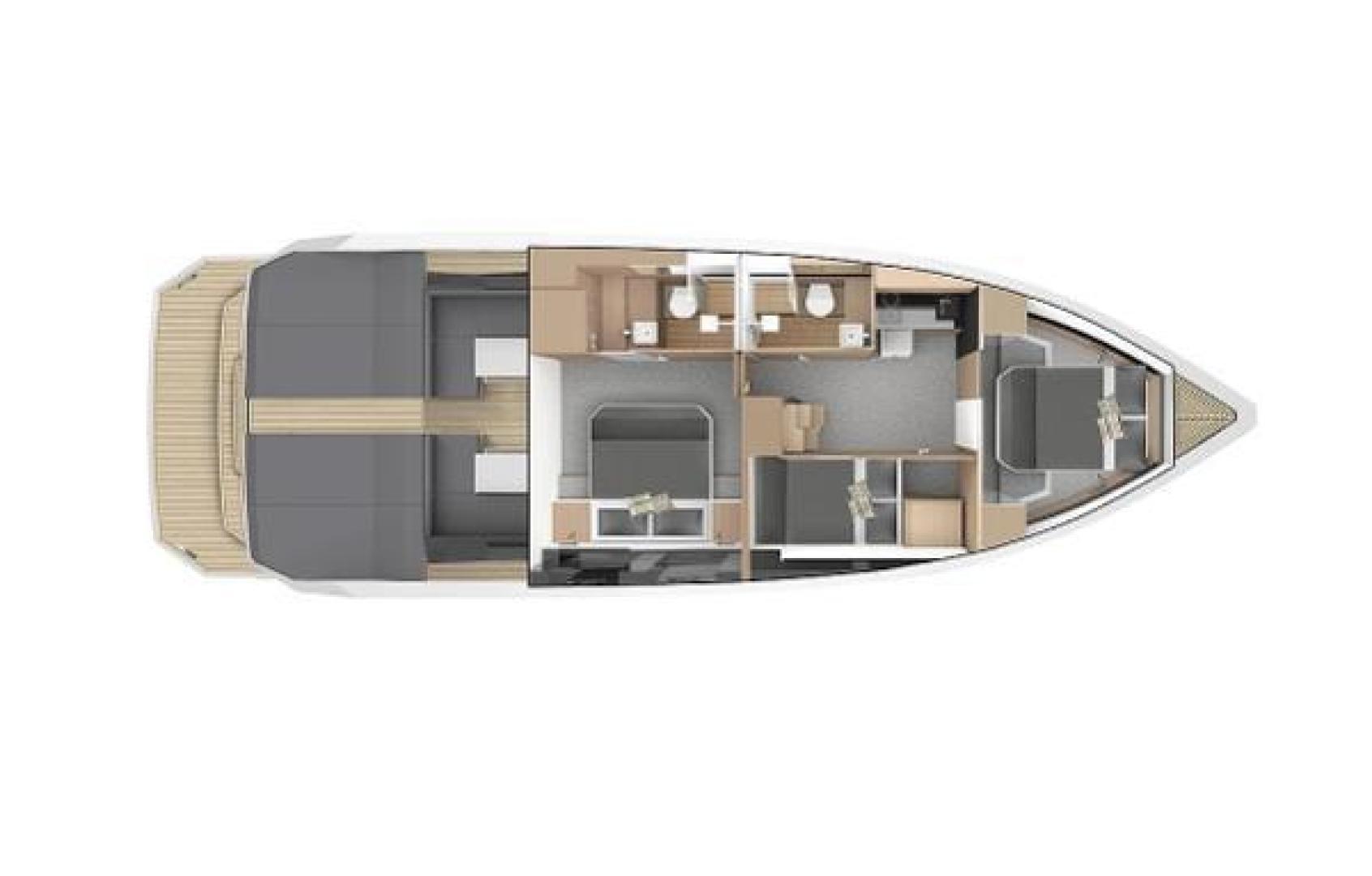 De Antonio-D46 Cruiser 2021-De Antonio Yachts D46 Cruiser Fort Lauderdale-Florida-United States-1523159 | Thumbnail