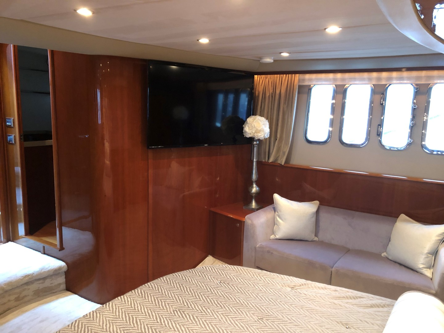 Princess-Flybridge Motor Yacht 2007-Hall Force One Palm Beach Boat Show-Florida-United States-1638228 | Thumbnail