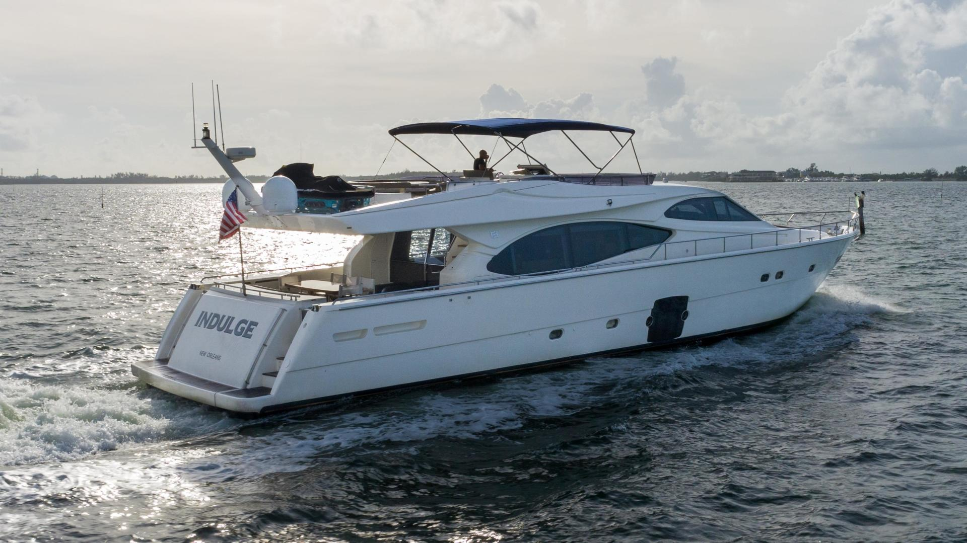 Ferretti Yachts-780 Fly bridge 2007-INDULGE Miami-Florida-United States-1543975 | Thumbnail