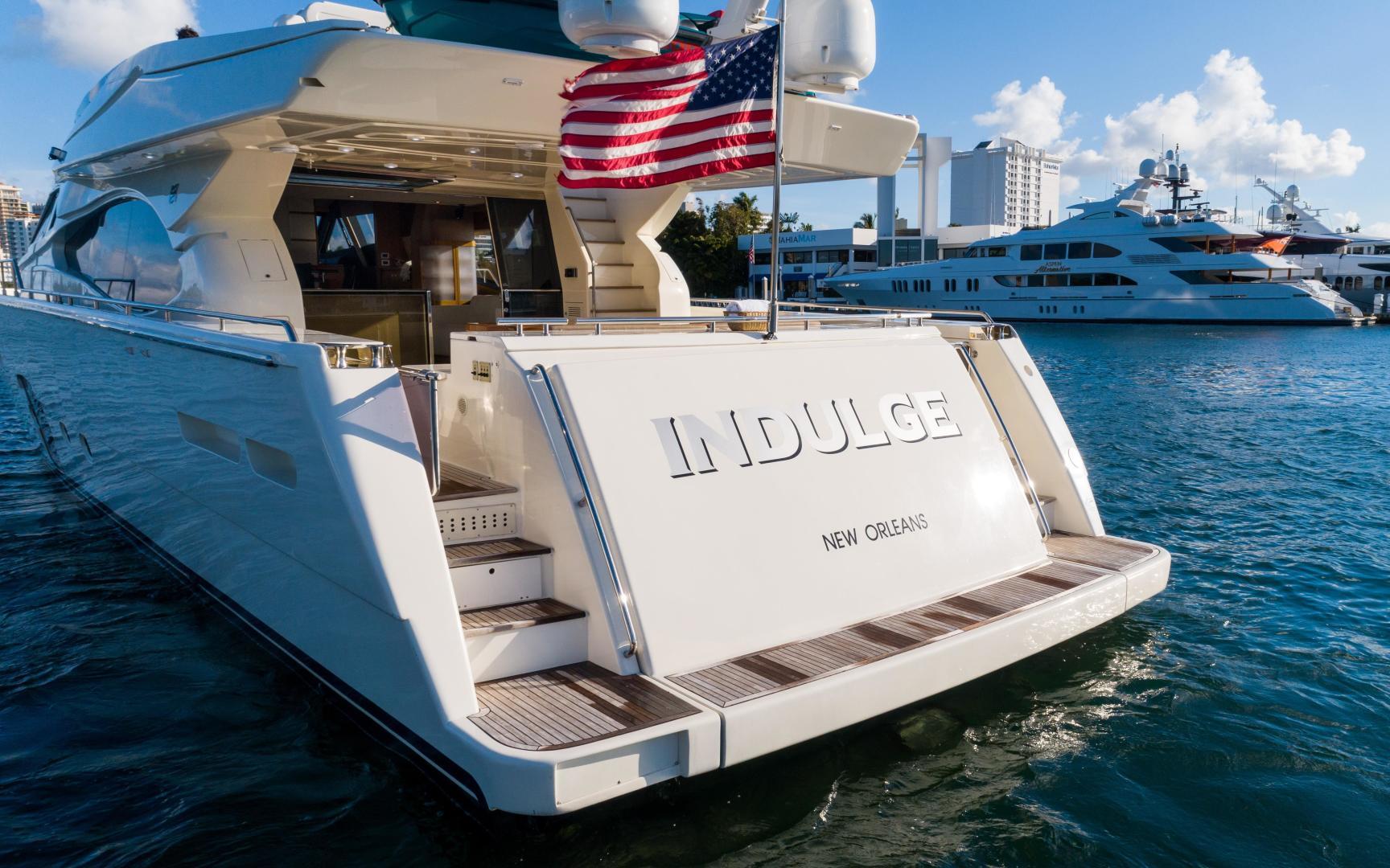 Ferretti Yachts-780 Fly bridge 2007-INDULGE Miami-Florida-United States-1544070 | Thumbnail