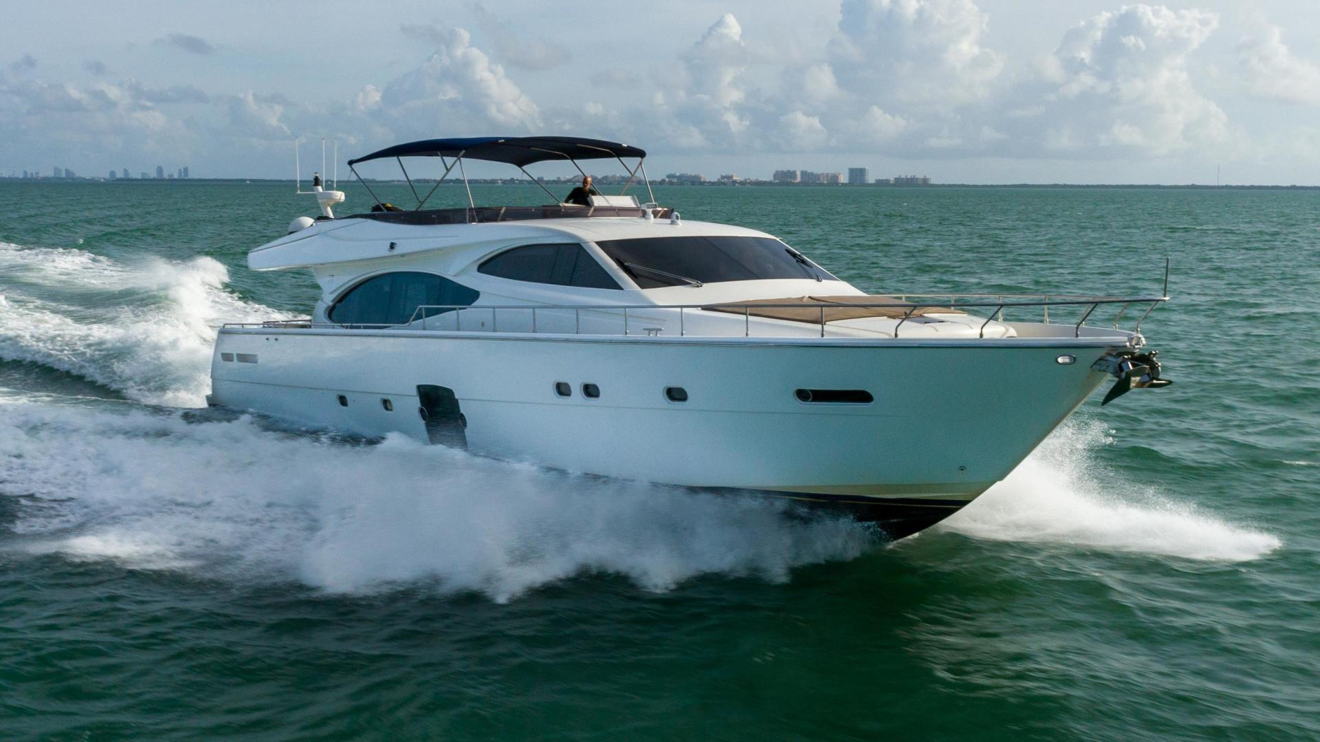 Ferretti Yachts-780 Fly bridge 2007-INDULGE Miami-Florida-United States-1543980 | Thumbnail