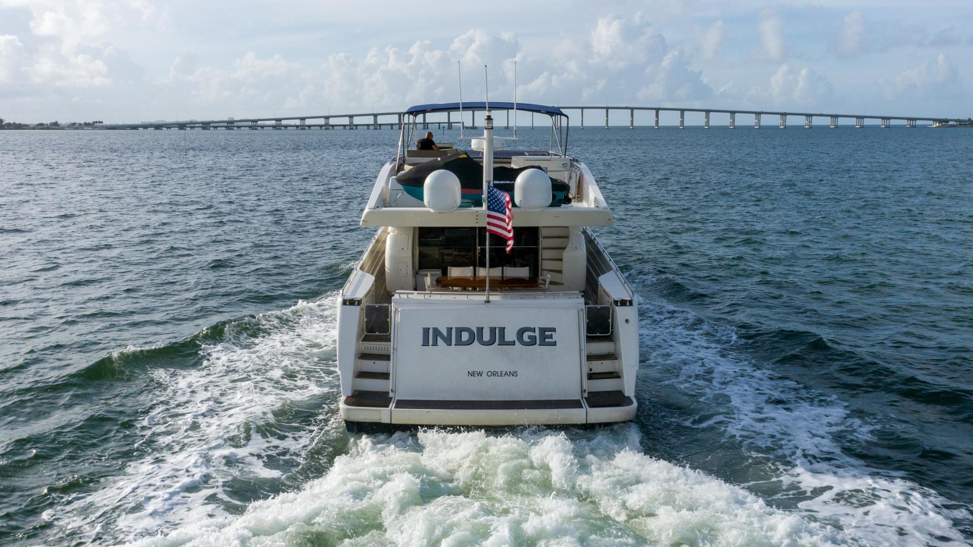 Ferretti Yachts-780 Fly bridge 2007-INDULGE Miami-Florida-United States-1544074 | Thumbnail