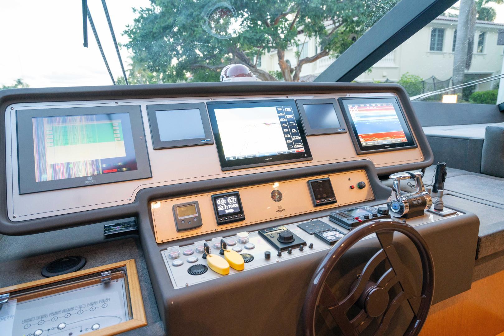 Ferretti Yachts-780 Fly bridge 2007-INDULGE Miami-Florida-United States-1544054 | Thumbnail