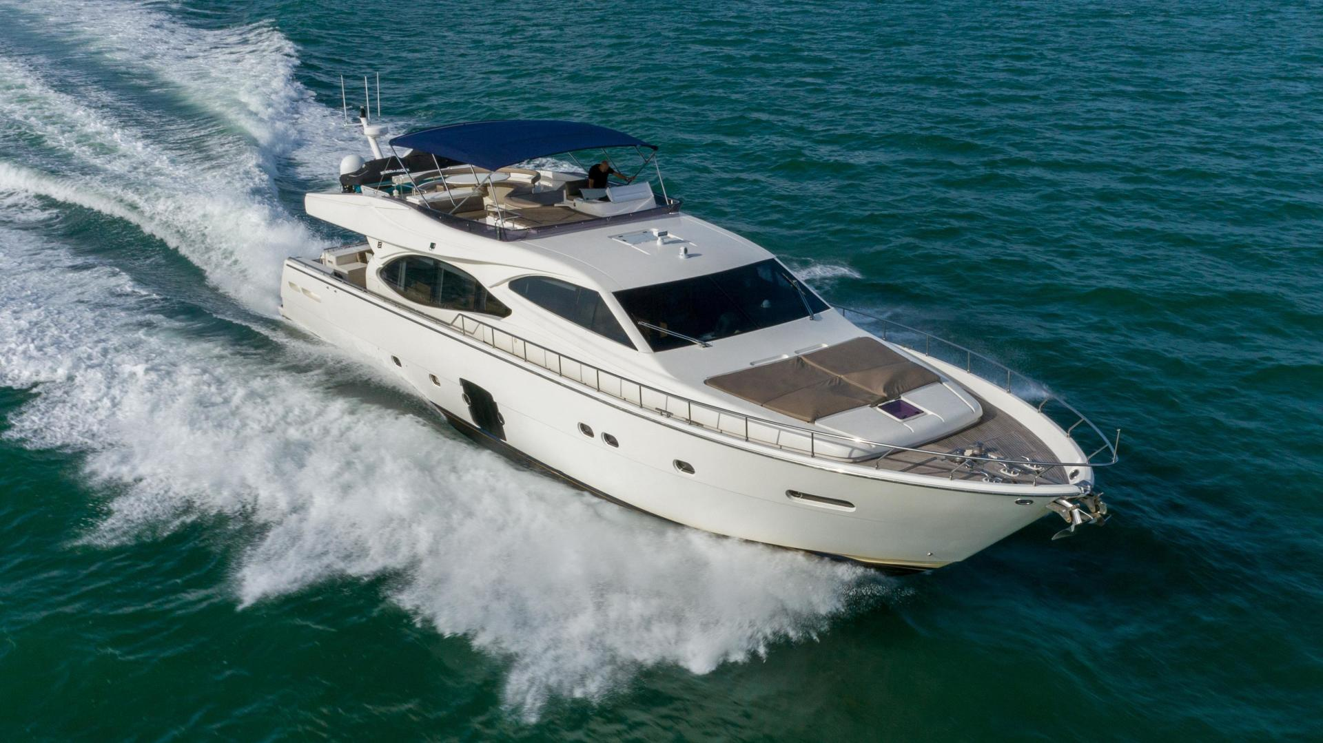 Ferretti Yachts-780 Fly bridge 2007-INDULGE Miami-Florida-United States-1543978 | Thumbnail