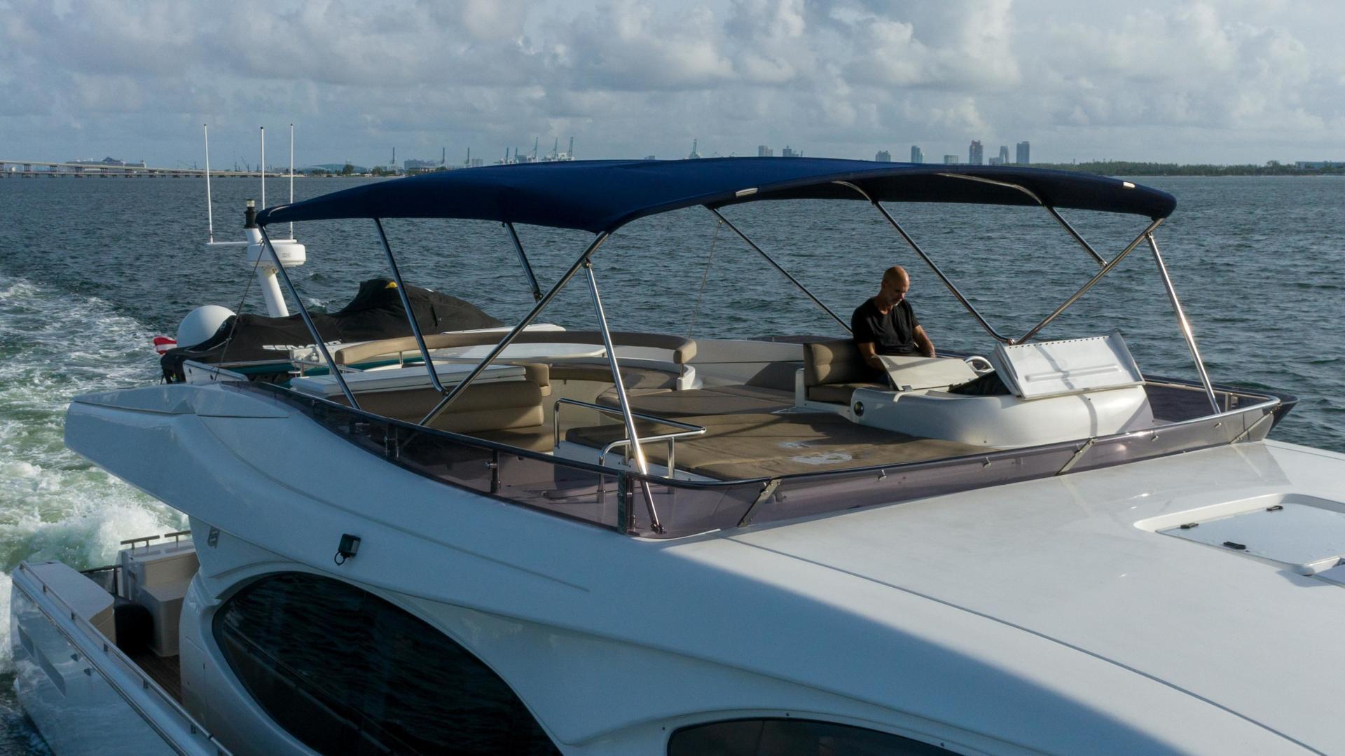 Ferretti Yachts-780 Fly bridge 2007-INDULGE Miami-Florida-United States-1543984 | Thumbnail
