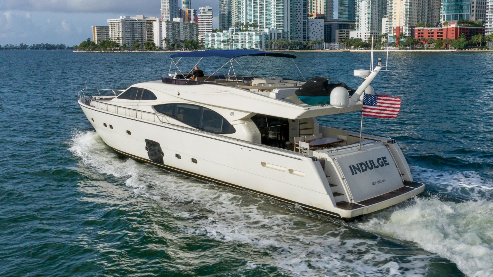 Ferretti Yachts-780 Fly bridge 2007-INDULGE Miami-Florida-United States-1544071 | Thumbnail