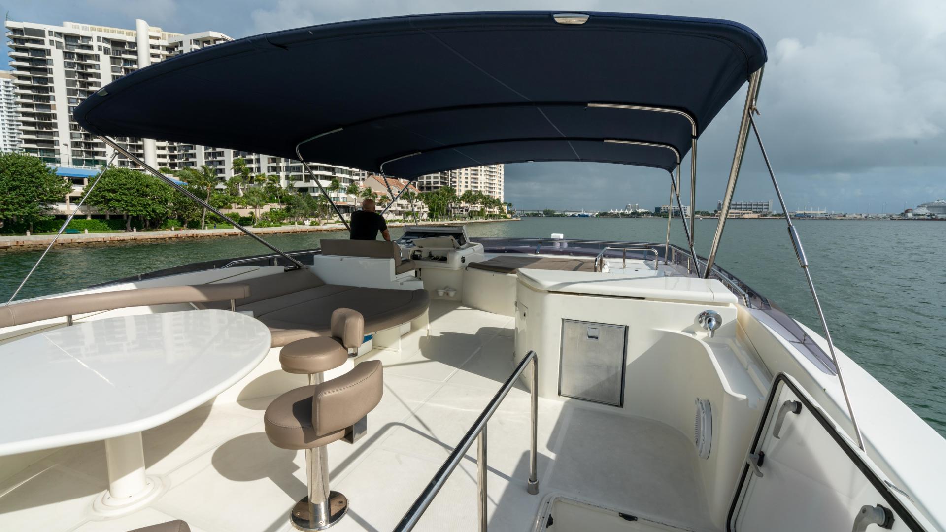 Ferretti Yachts-780 Fly bridge 2007-INDULGE Miami-Florida-United States-1543992 | Thumbnail