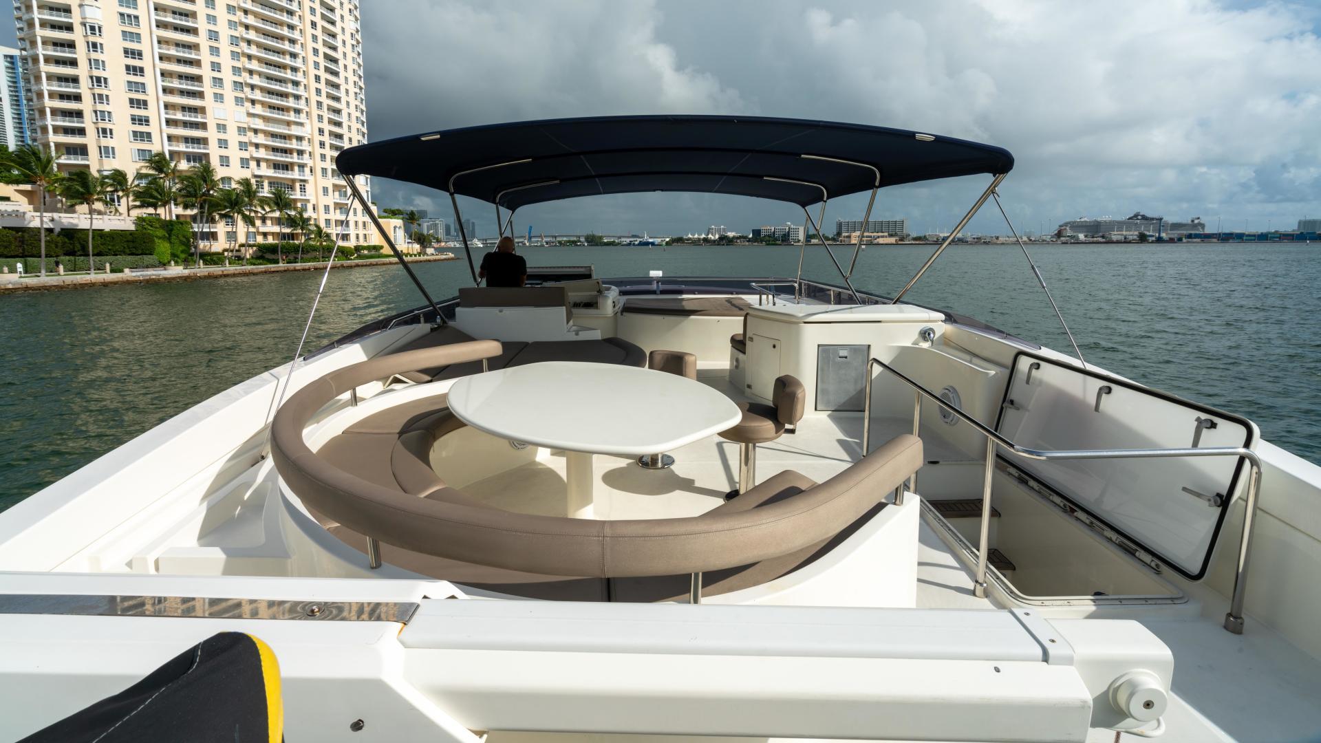 Ferretti Yachts-780 Fly bridge 2007-INDULGE Miami-Florida-United States-1543995 | Thumbnail