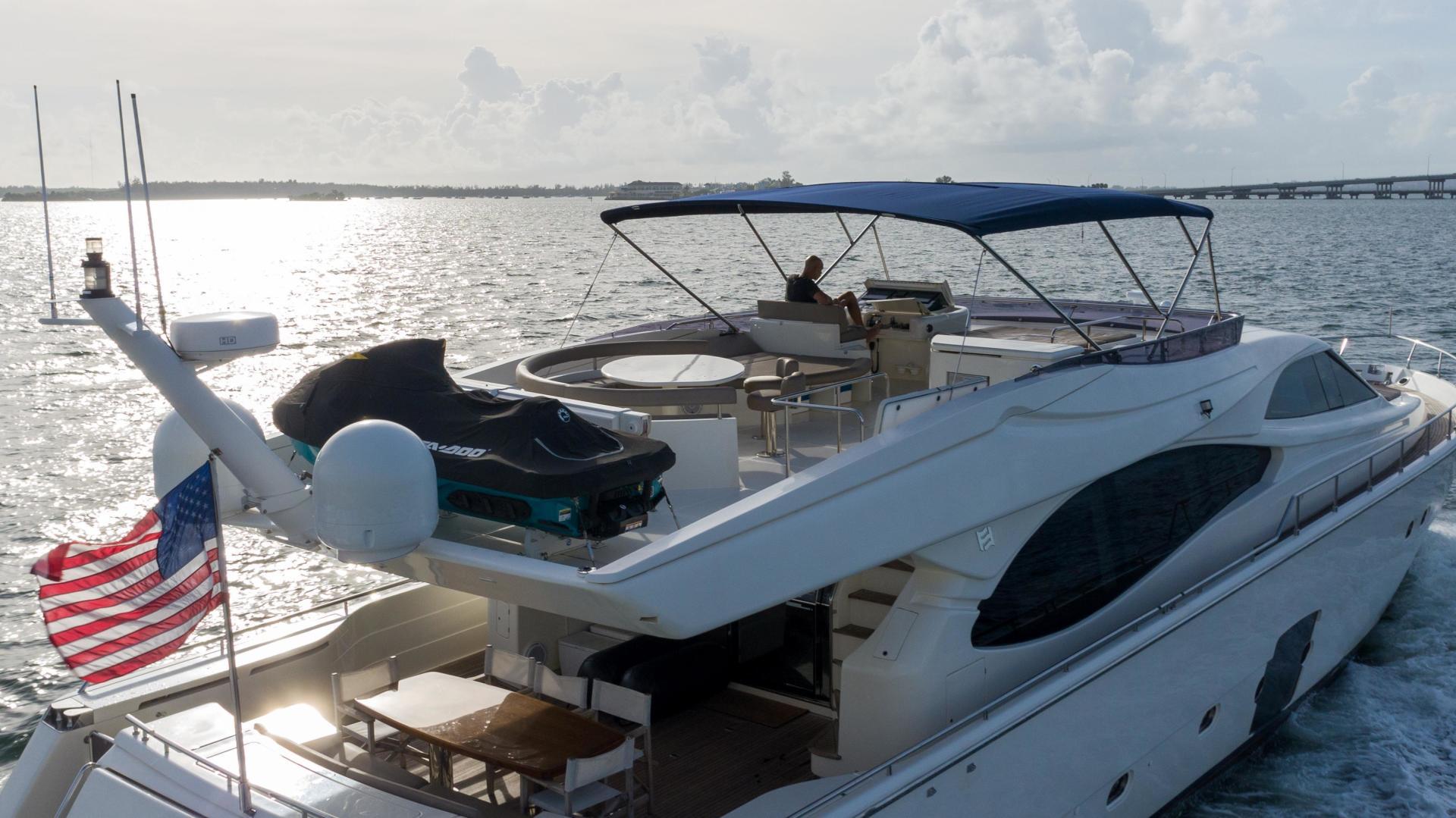 Ferretti Yachts-780 Fly bridge 2007-INDULGE Miami-Florida-United States-1543982 | Thumbnail