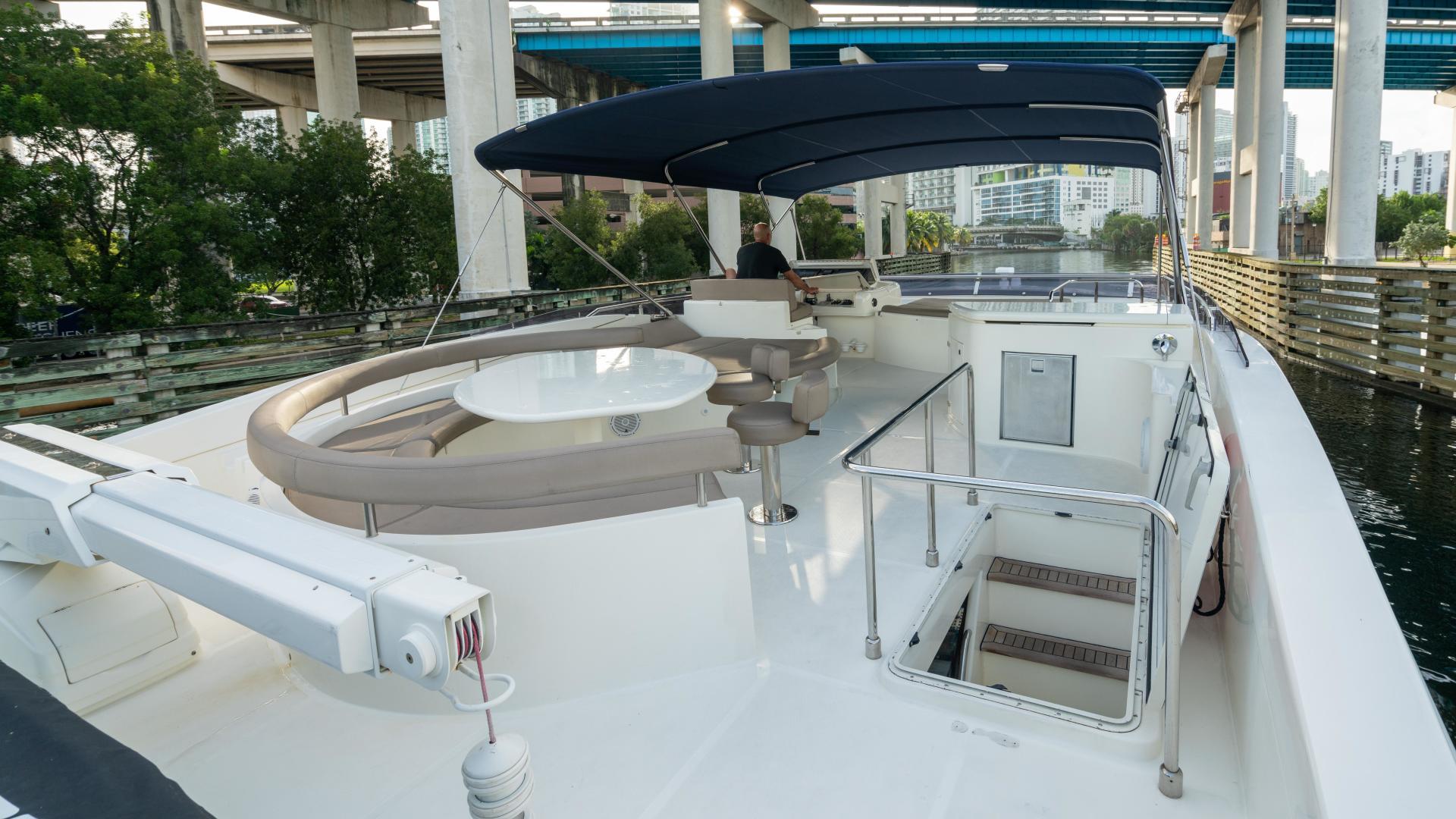 Ferretti Yachts-780 Fly bridge 2007-INDULGE Miami-Florida-United States-1543988 | Thumbnail