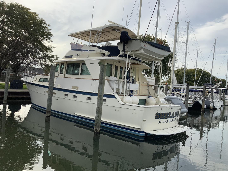 Hatteras-Yacht Fish 1987-Shelanu Harrison Township-Michigan-United States-1535284 | Thumbnail