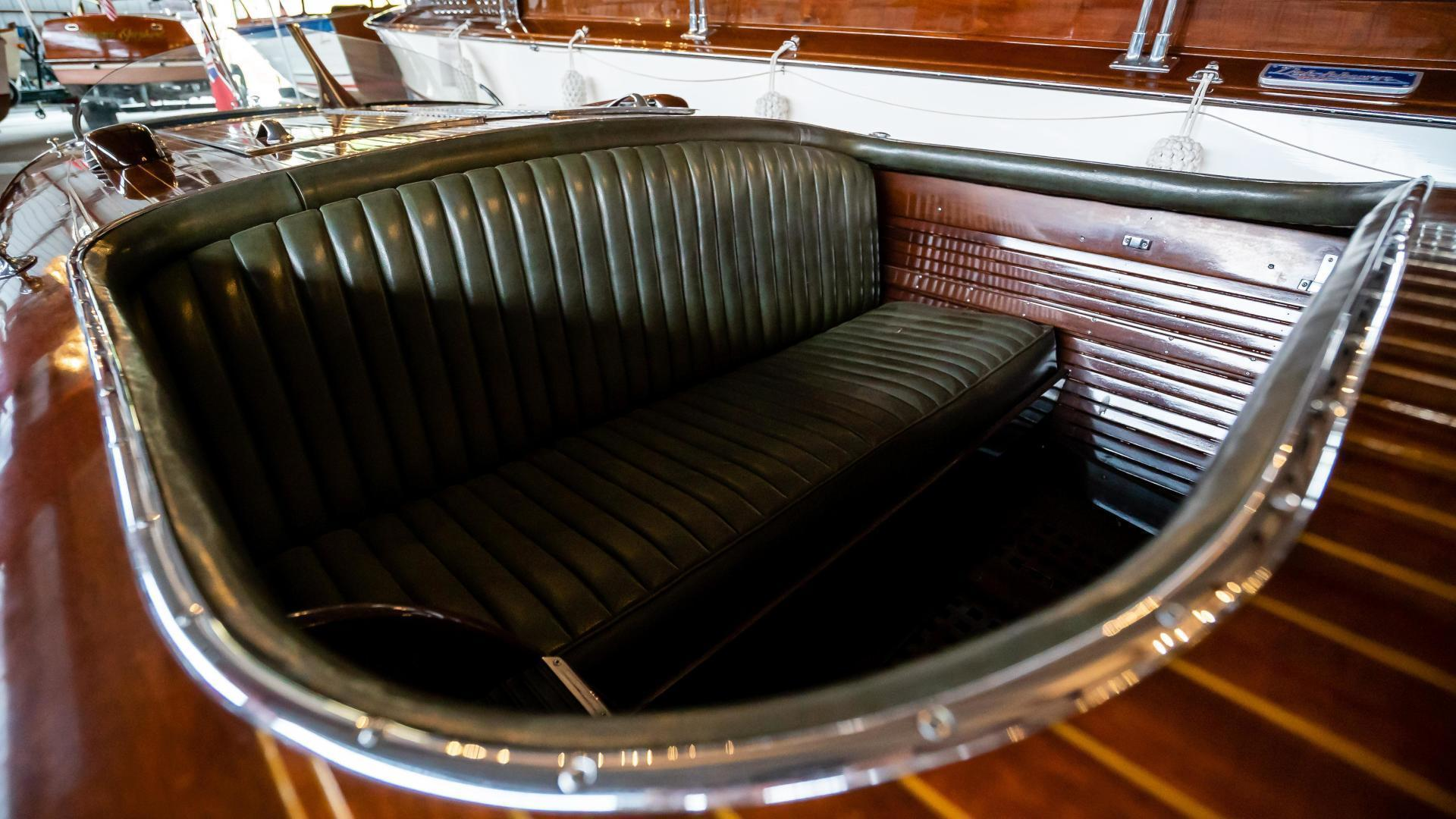 Antique-Minett Sheilds Triple Cockpit Runabout 1936-Regoda Clayton-New York-United States-1536175 | Thumbnail