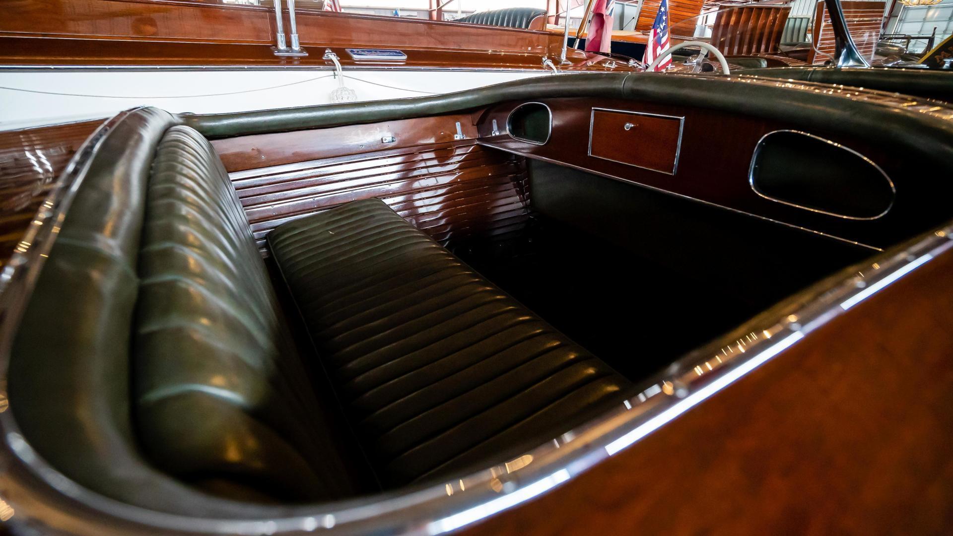 Antique-Minett Sheilds Triple Cockpit Runabout 1936-Regoda Clayton-New York-United States-1536174 | Thumbnail