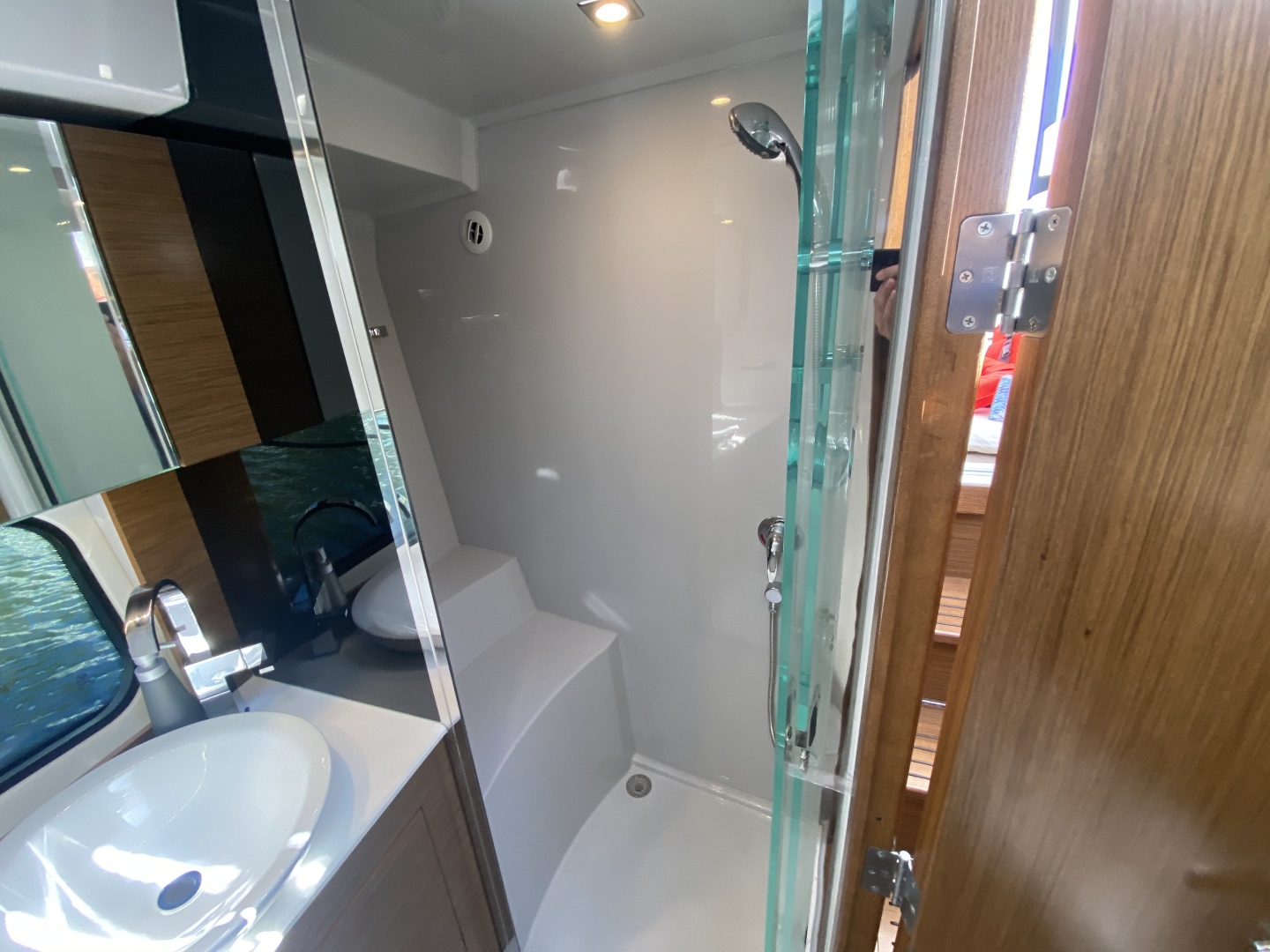 Cruisers-390 EC 2017-Dolphin Trace St Petersburg-Florida-United States-2017 39 Cruisers Express Coupe Yacht  Shower Stall-1536709 | Thumbnail