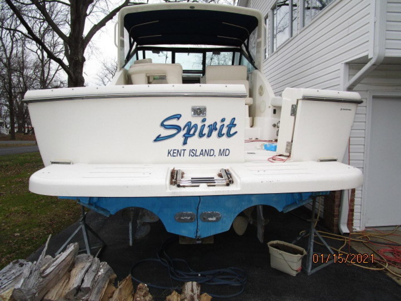 Tiara Yachts-2900 1997-Spirit Stevensville-Maryland-United States-29 Tiara swimplatform-1619391 | Thumbnail