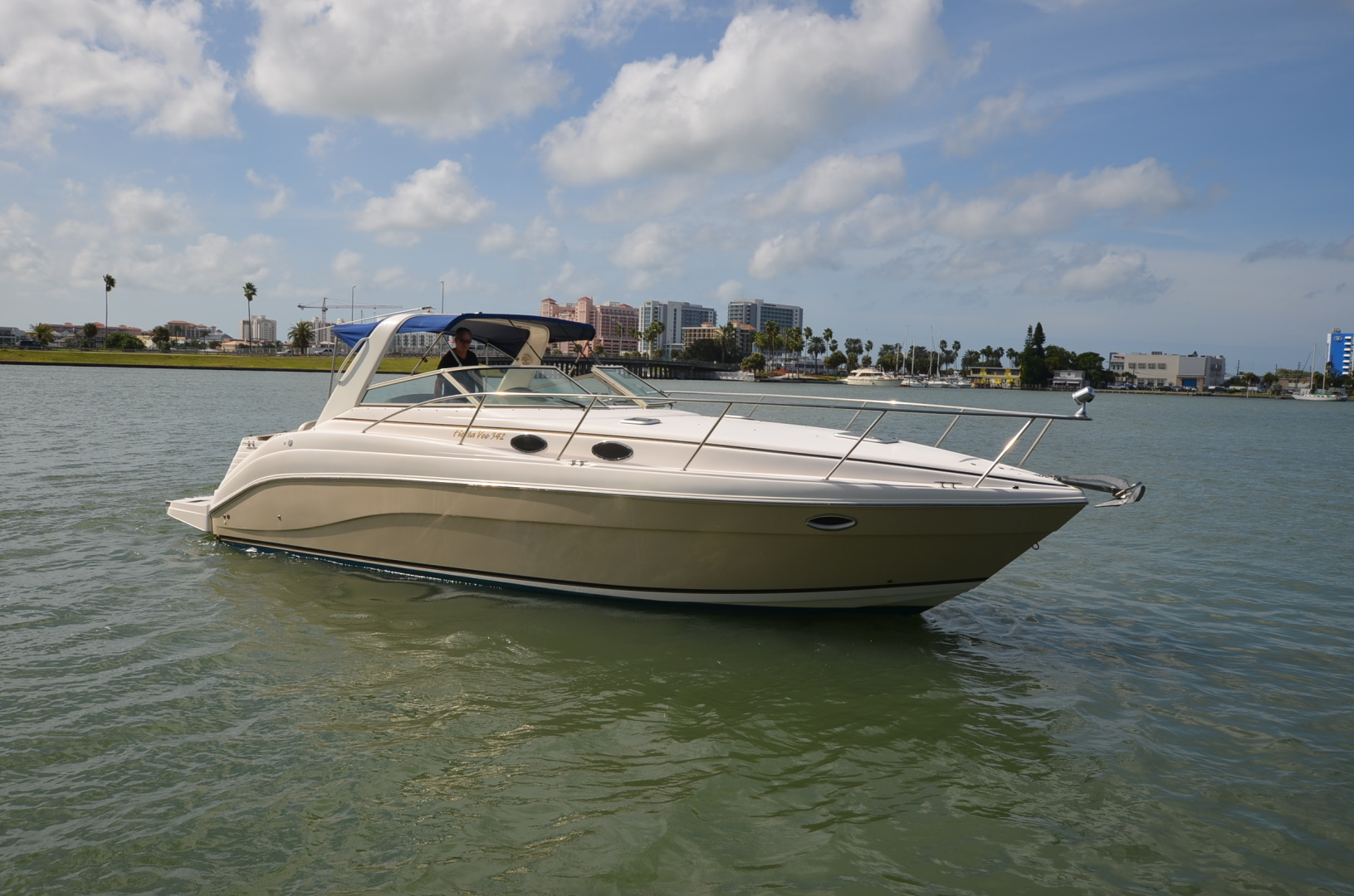 Rinker-342 Fiesta Vee 2004-Constant Motion Clearwater-Florida-United States-1538269 | Thumbnail