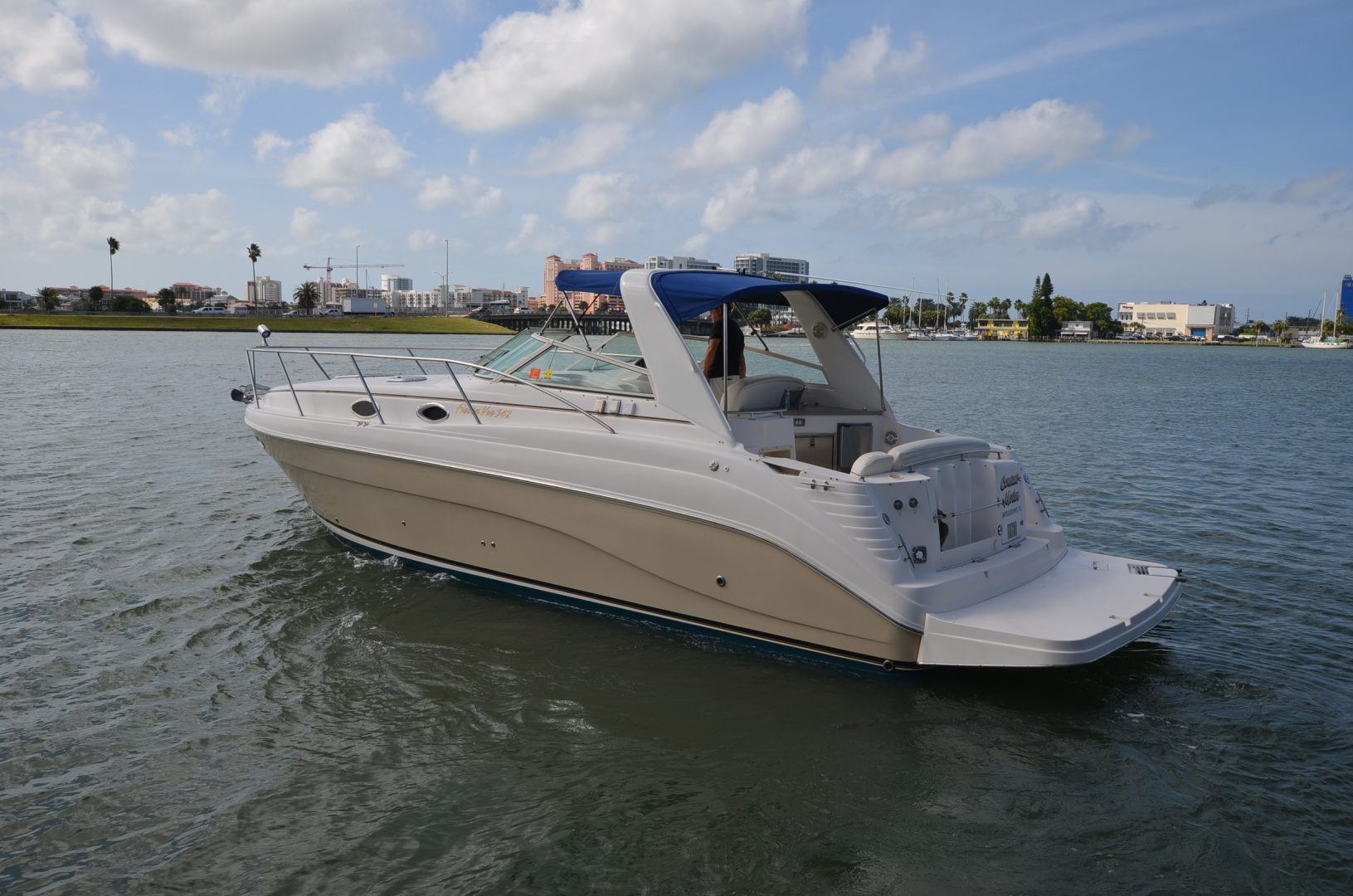 Rinker-342 Fiesta Vee 2004-Constant Motion Clearwater-Florida-United States-1538263 | Thumbnail