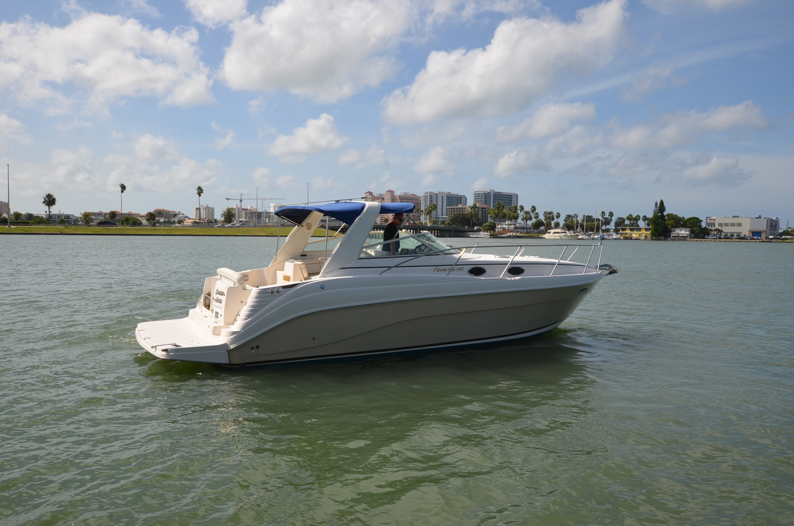 Rinker-342 Fiesta Vee 2004-Constant Motion Clearwater-Florida-United States-1538281 | Thumbnail