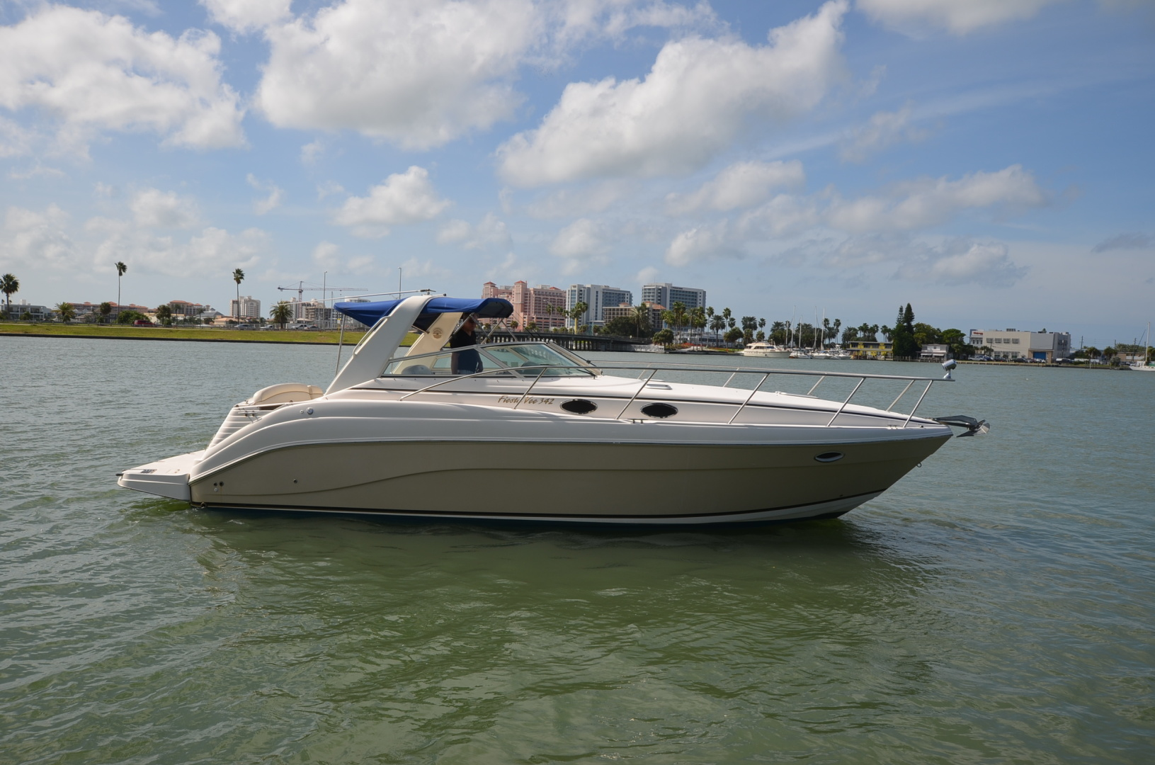 Rinker-342 Fiesta Vee 2004-Constant Motion Clearwater-Florida-United States-1538285 | Thumbnail
