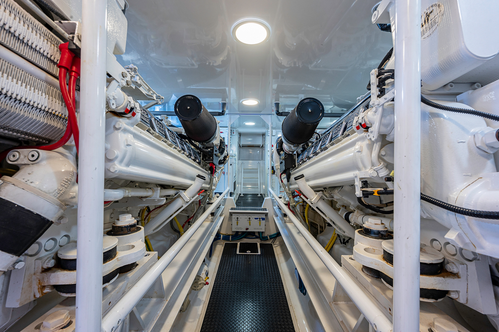 Viking-Convertible 2007-Scoped Out Lighthouse Point-Florida-United States-Engine Room-1552158 | Thumbnail