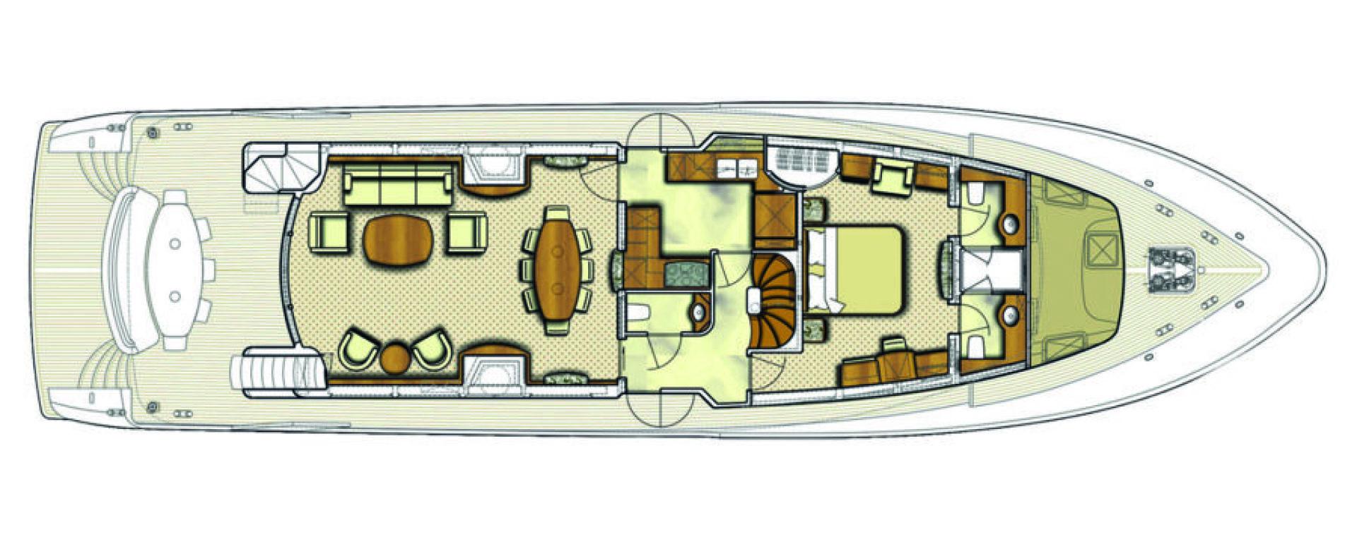 Conrad Shipyard-88 Motor Yacht 2005-Chillin Fort Lauderdale-Florida-United States-Conrad Motor Yacht 2005 Chillin-1537347 | Thumbnail